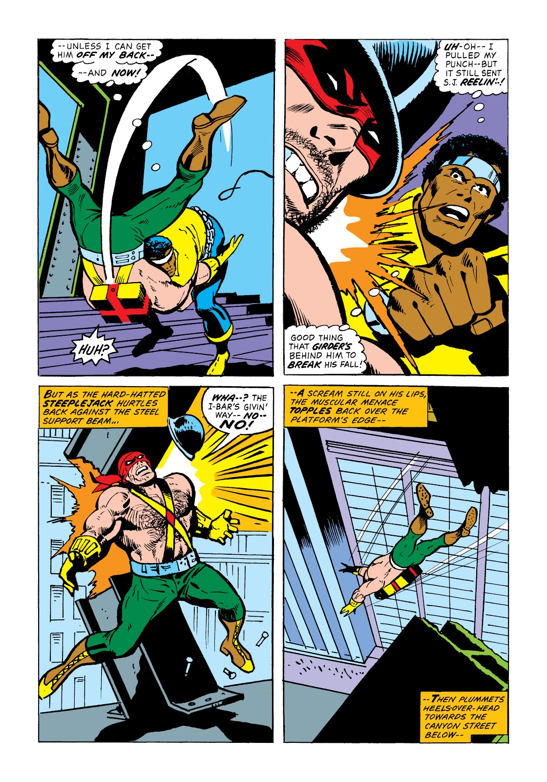 Read online Marvel Masterworks: Luke Cage, Power Man comic -  Issue # TPB 2 (Part 1) - 45