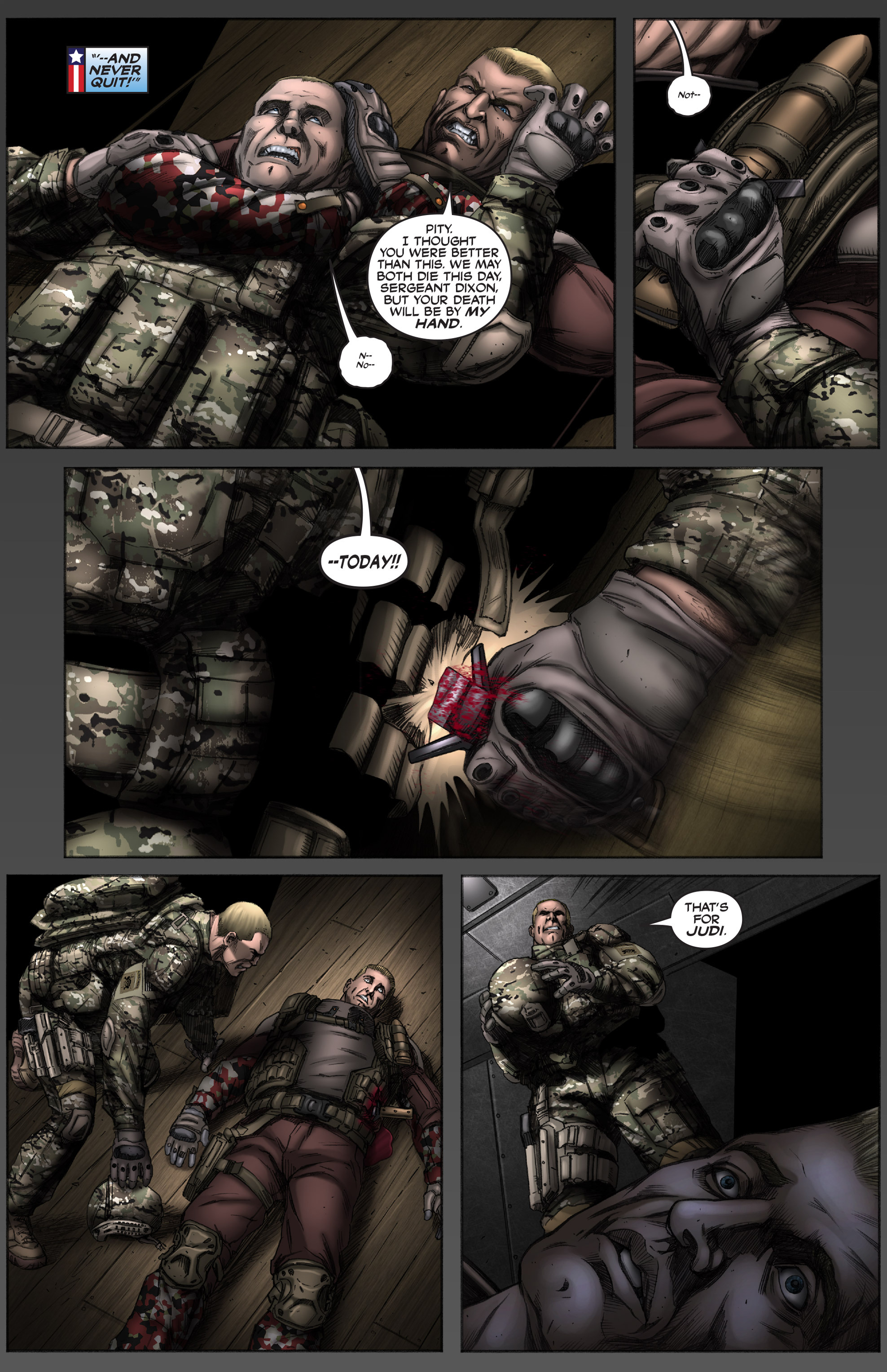 Read online America's Army comic -  Issue #12 - 19