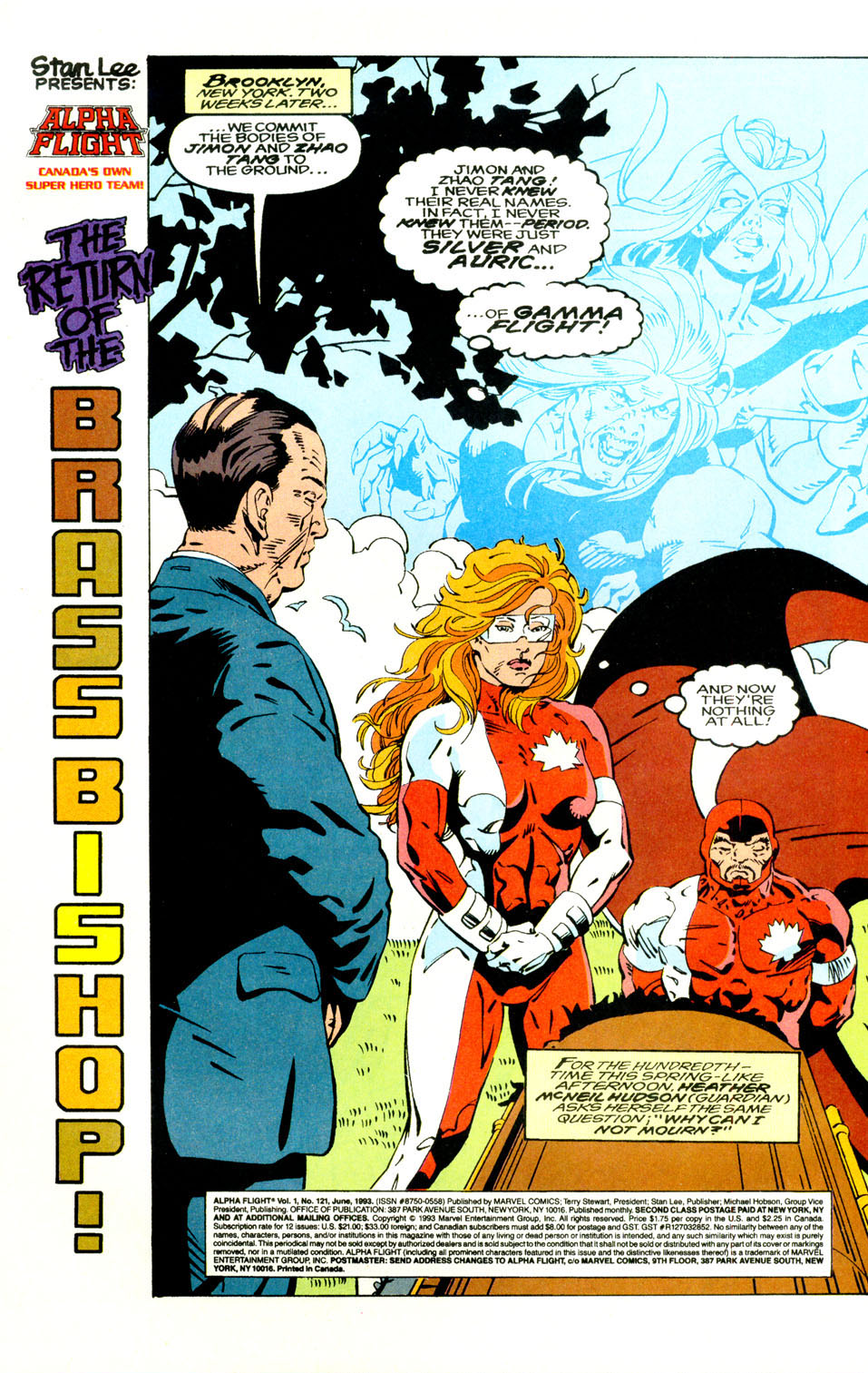 Read online Alpha Flight (1983) comic -  Issue #121 - 25