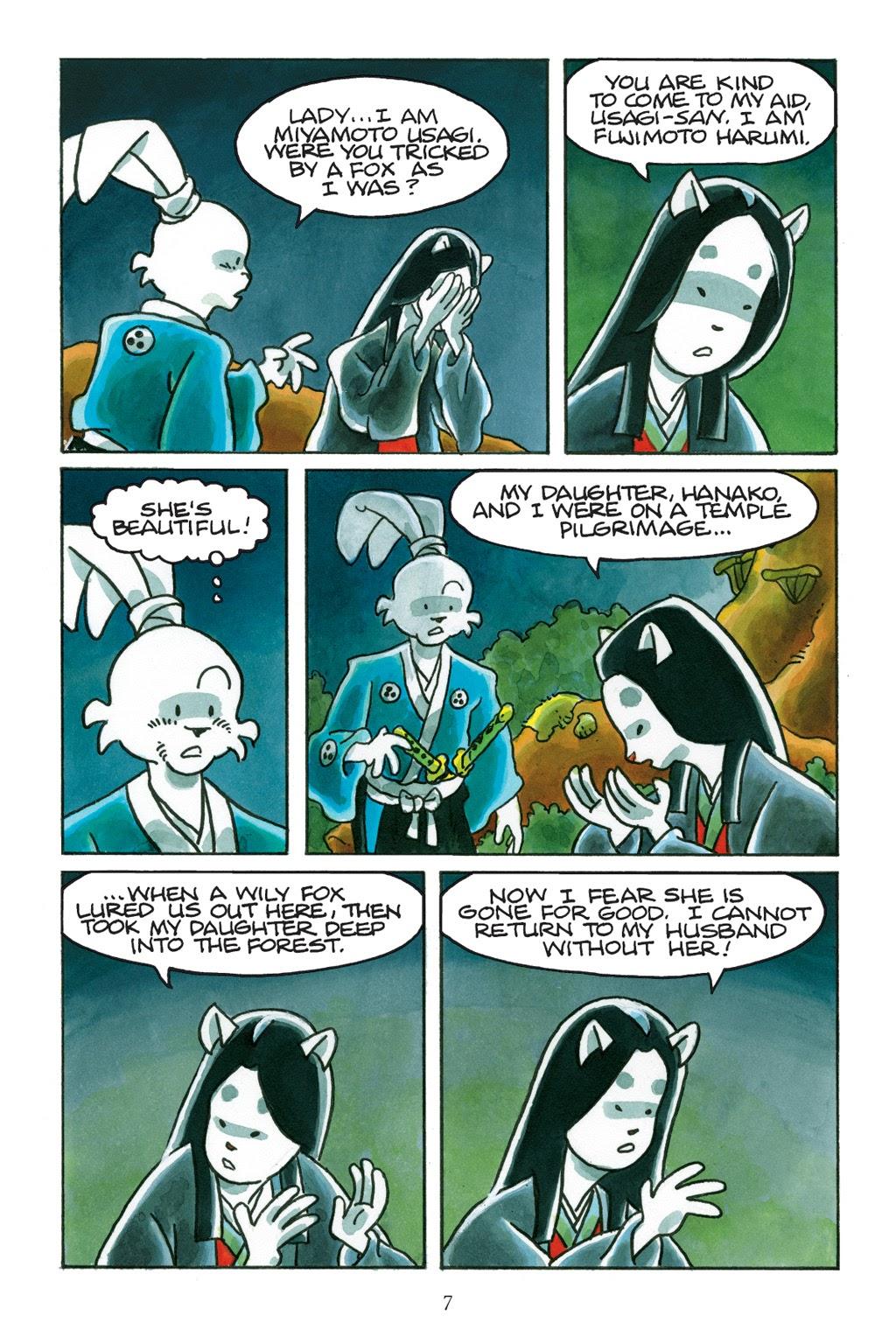 Read online Usagi Yojimbo: Yokai comic -  Issue # Full - 8