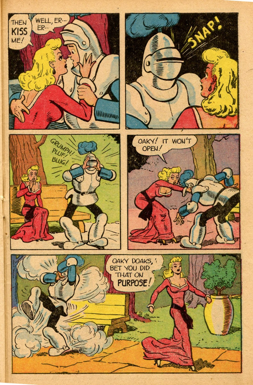 Read online Famous Funnies comic -  Issue #155 - 47