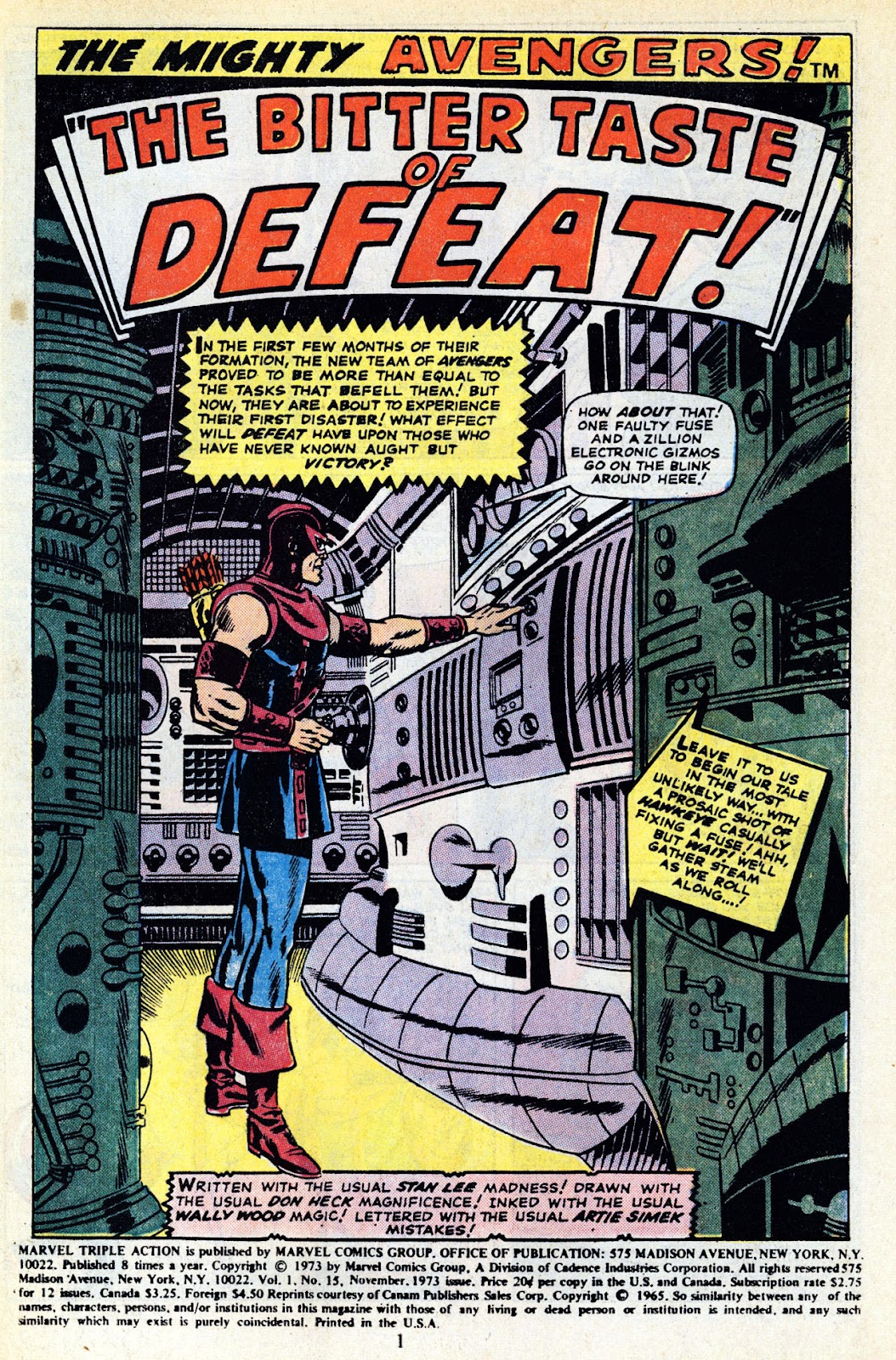 Marvel Triple Action (1972) issue 15 - Page 3
