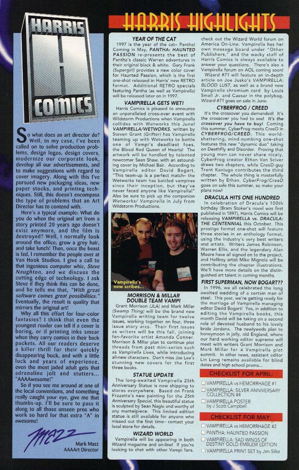 Vampirella vs Hemorrhage issue 1 - Page 28