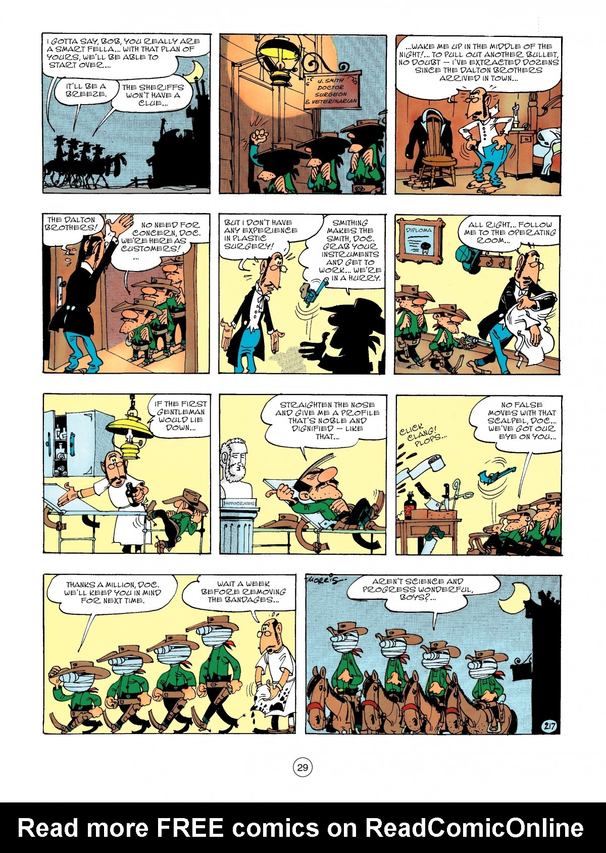 Read online A Lucky Luke Adventure comic -  Issue #47 - 29