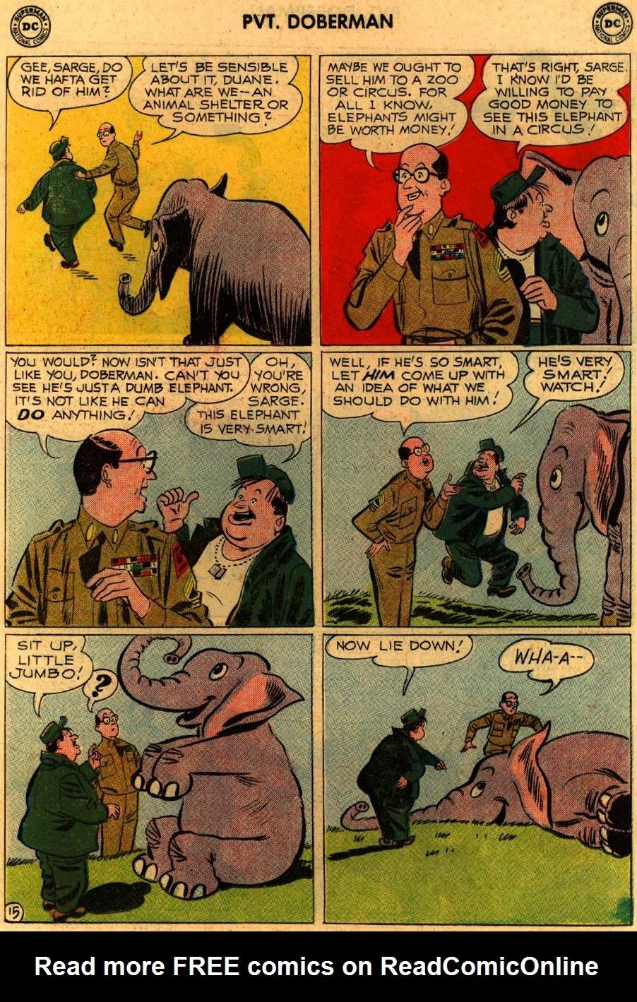 Sgt. Bilko's Pvt. Doberman issue 9 - Page 19