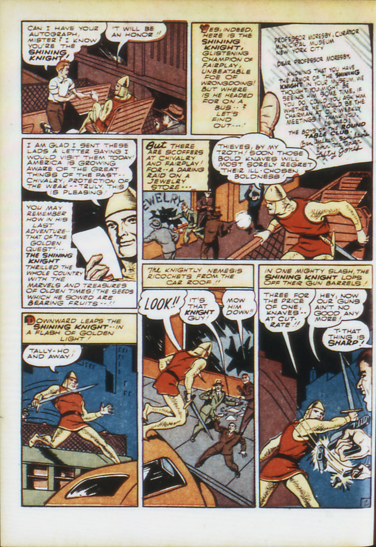 Read online Adventure Comics (1938) comic -  Issue #74 - 35