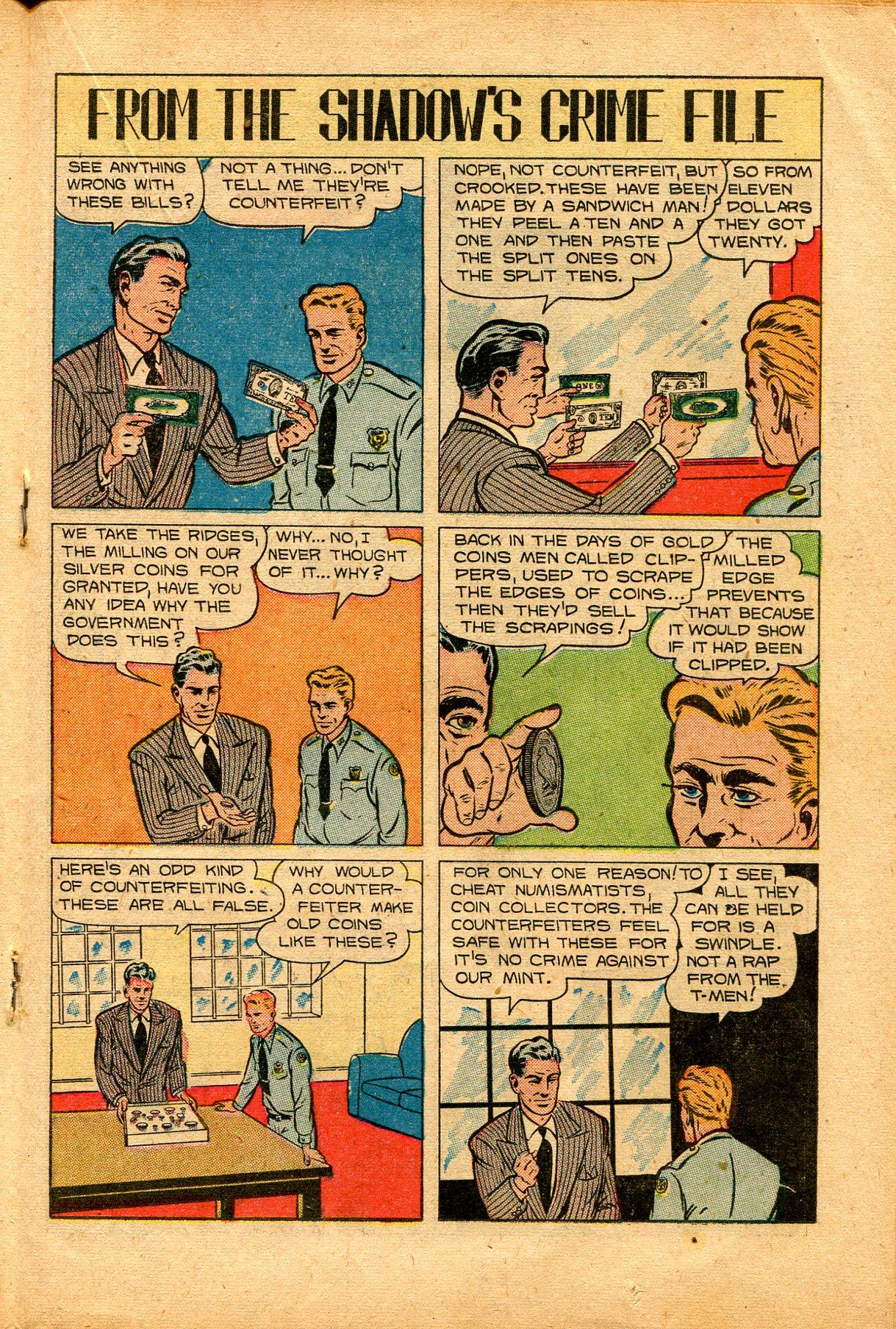 Read online Shadow Comics comic -  Issue #94 - 25