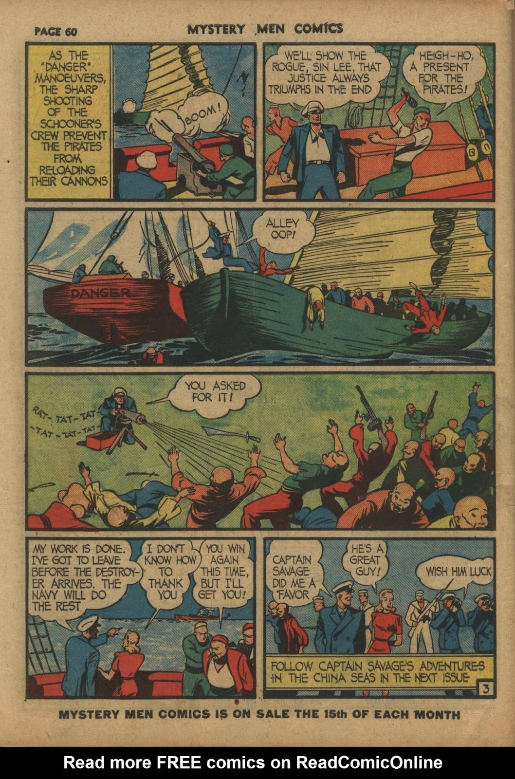 Mystery Men Comics issue 10 - Page 62