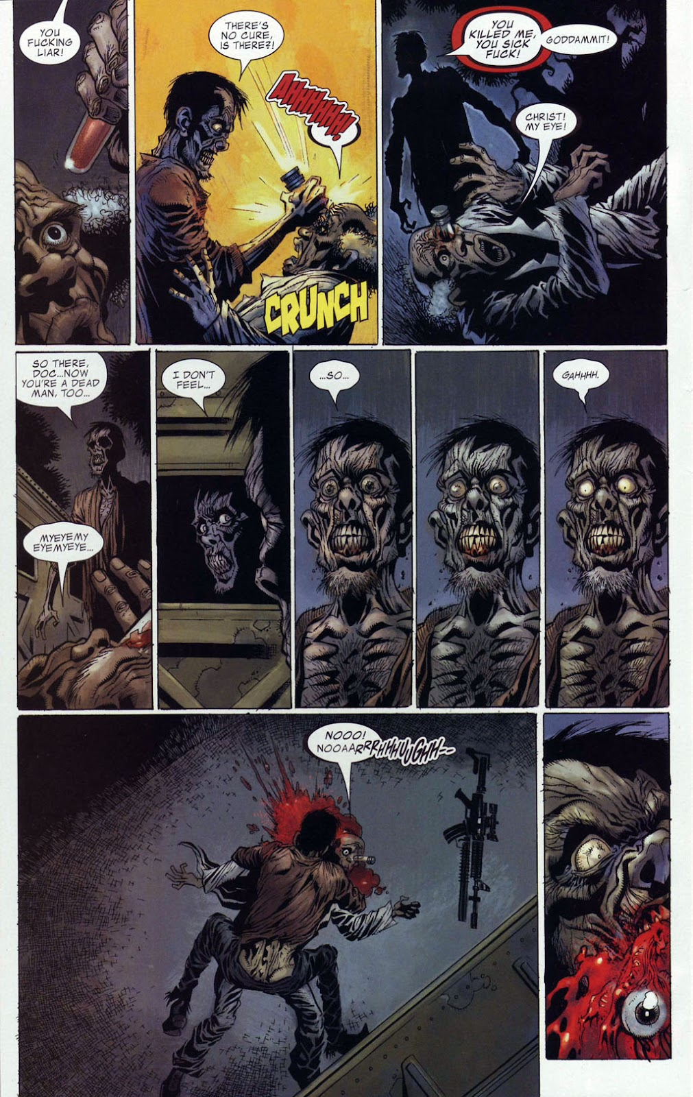 Read online Zombie (2006) comic -  Issue #4 - 19