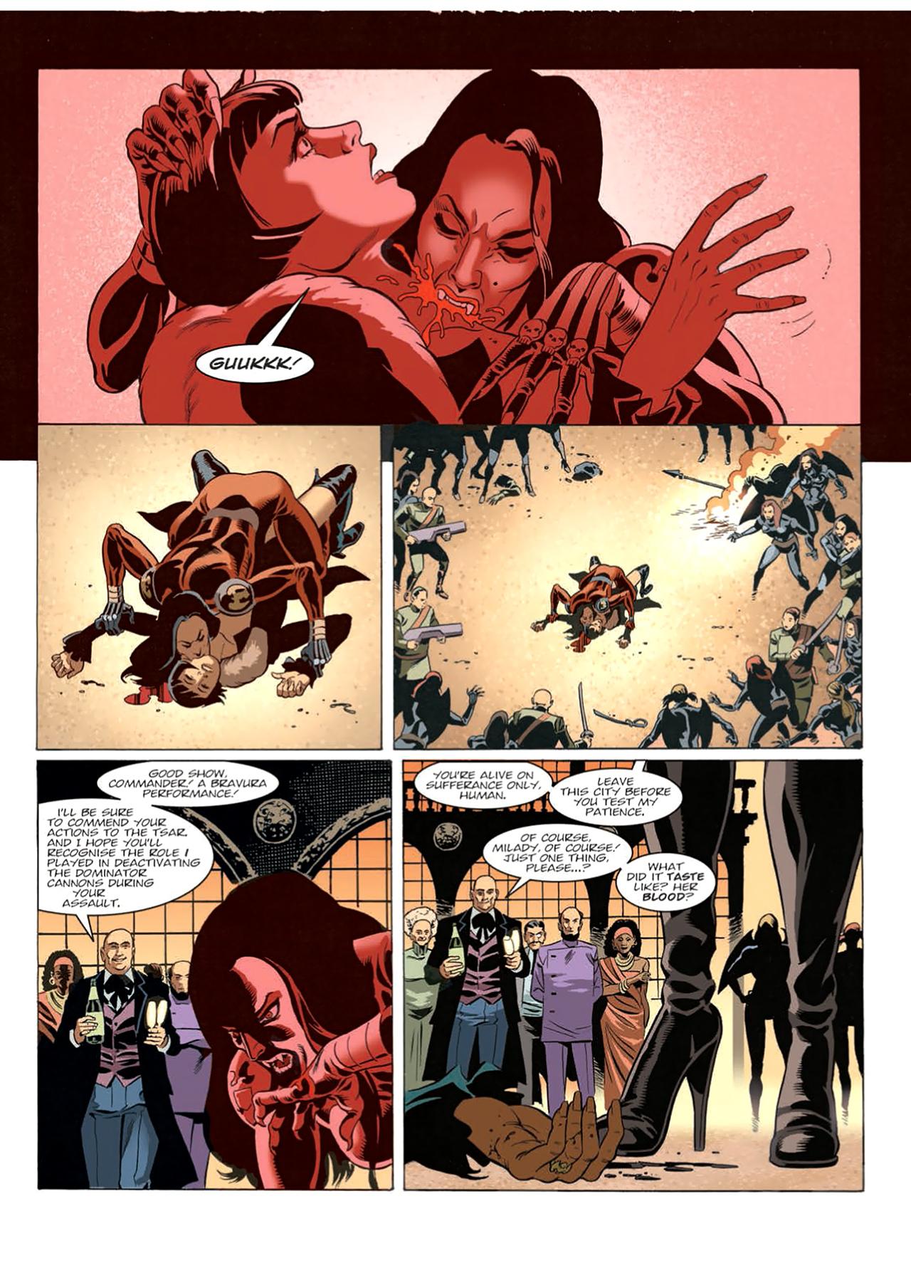 Read online Nikolai Dante comic -  Issue # TPB 9 - 178