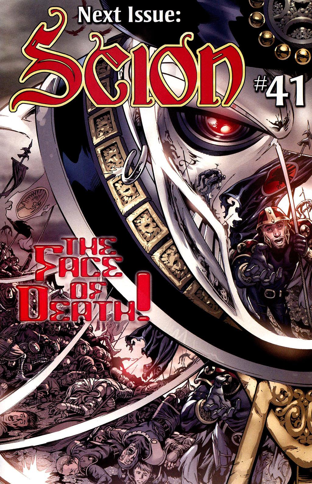 Read online Scion comic -  Issue #40 - 21