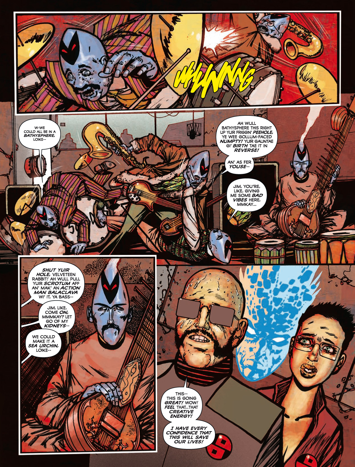 Read online 2000 AD comic -  Issue #1746 - 154