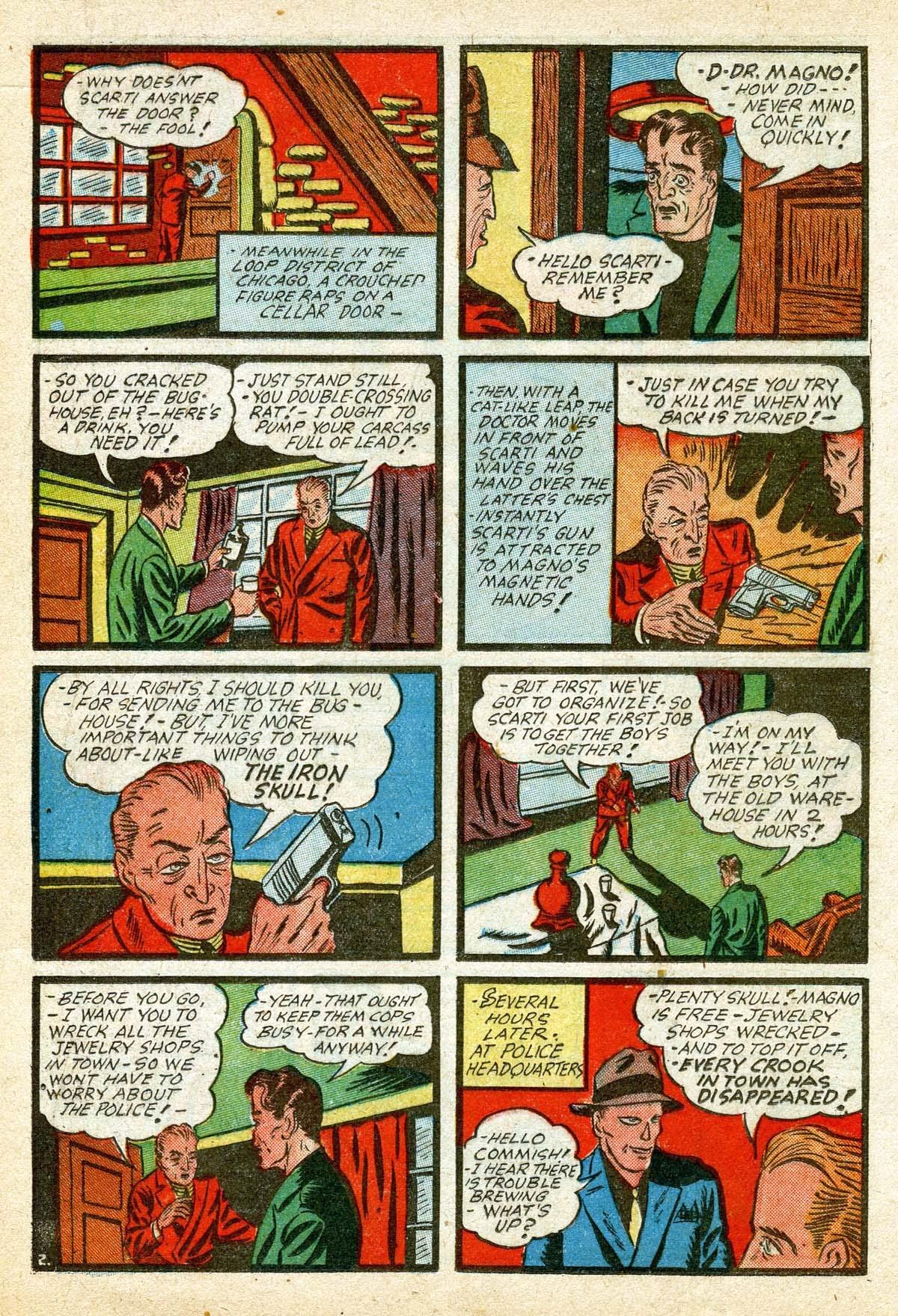 Read online Amazing Man Comics comic -  Issue #8 - 22