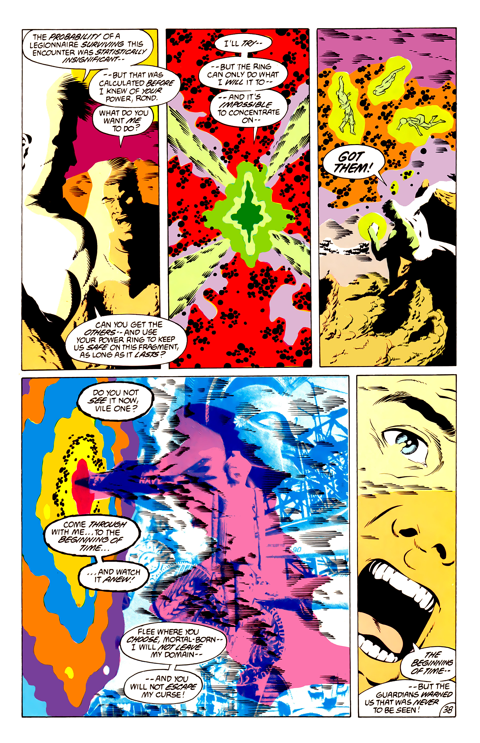 Legion of Super-Heroes (1984) 50 Page 37