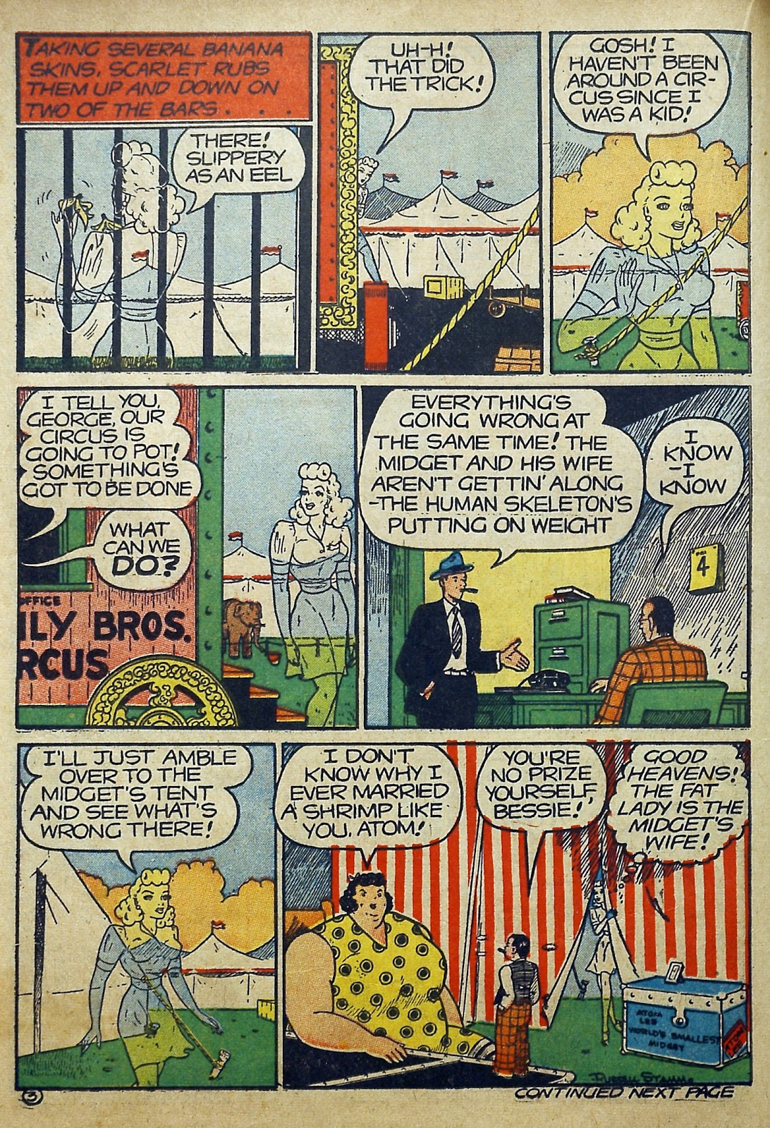 Read online Famous Funnies comic -  Issue #97 - 31