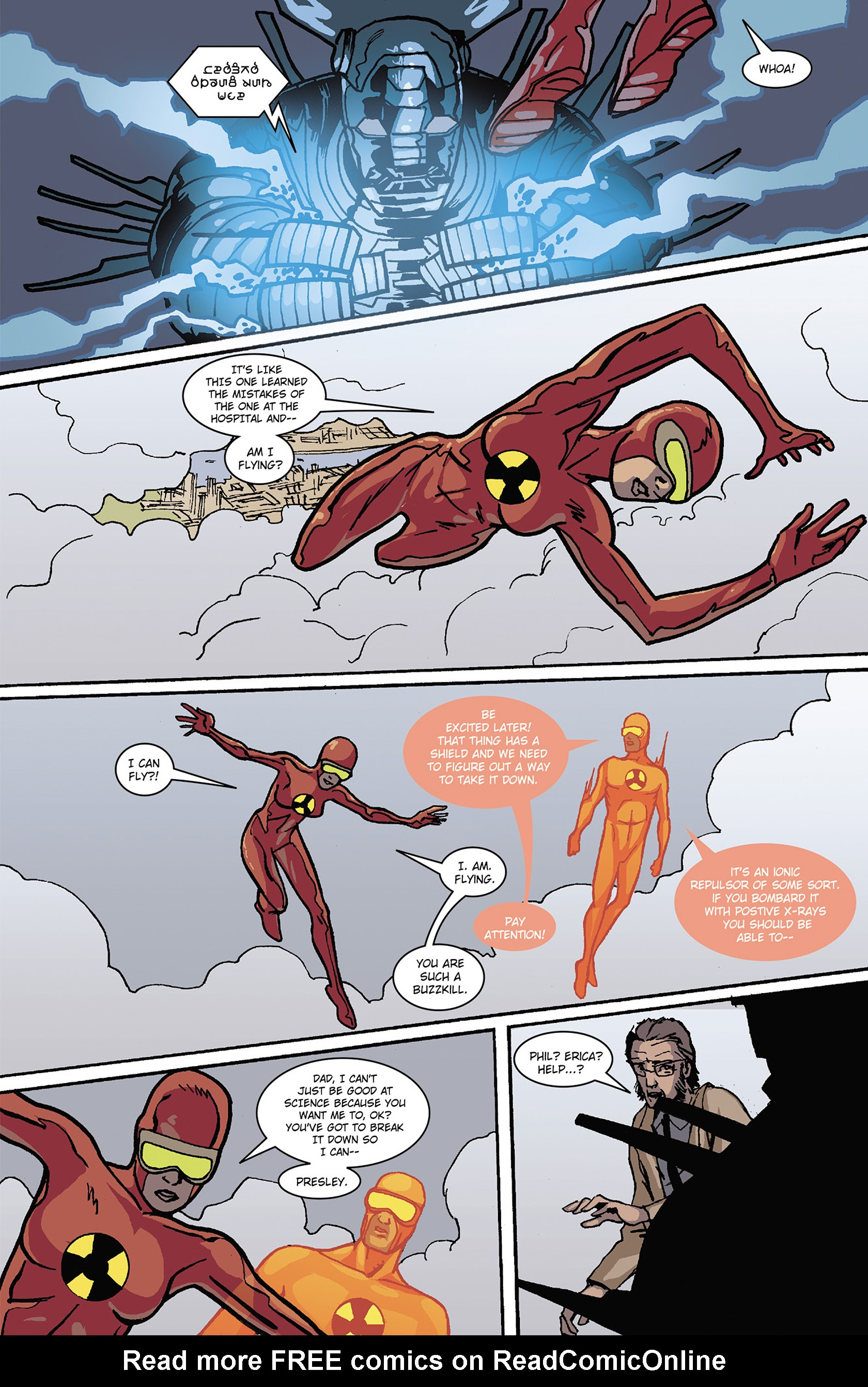 Read online Solar: Man of the Atom (2014) comic -  Issue #3 - 19