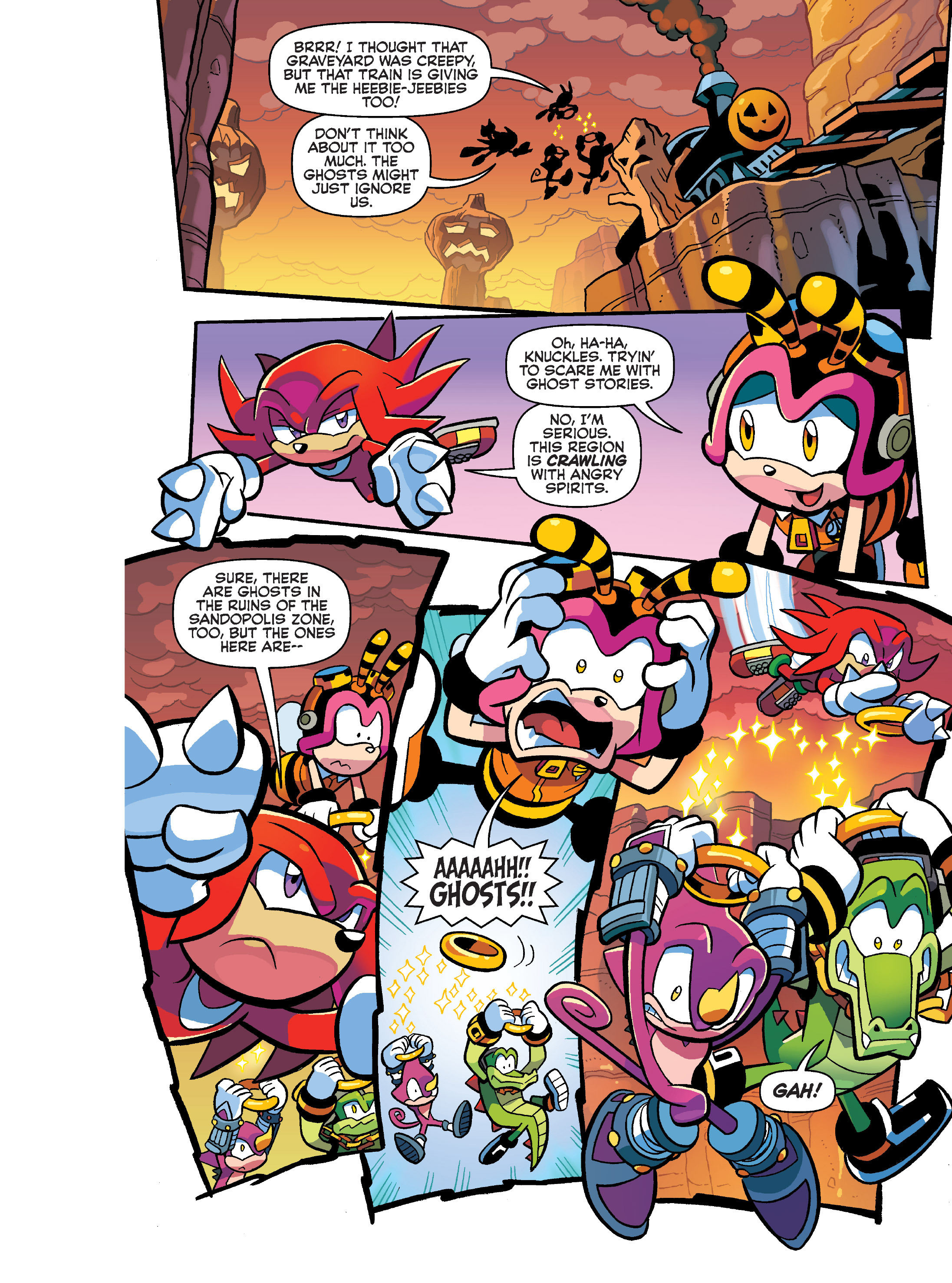 Read online Sonic Super Digest comic -  Issue #10 - 36