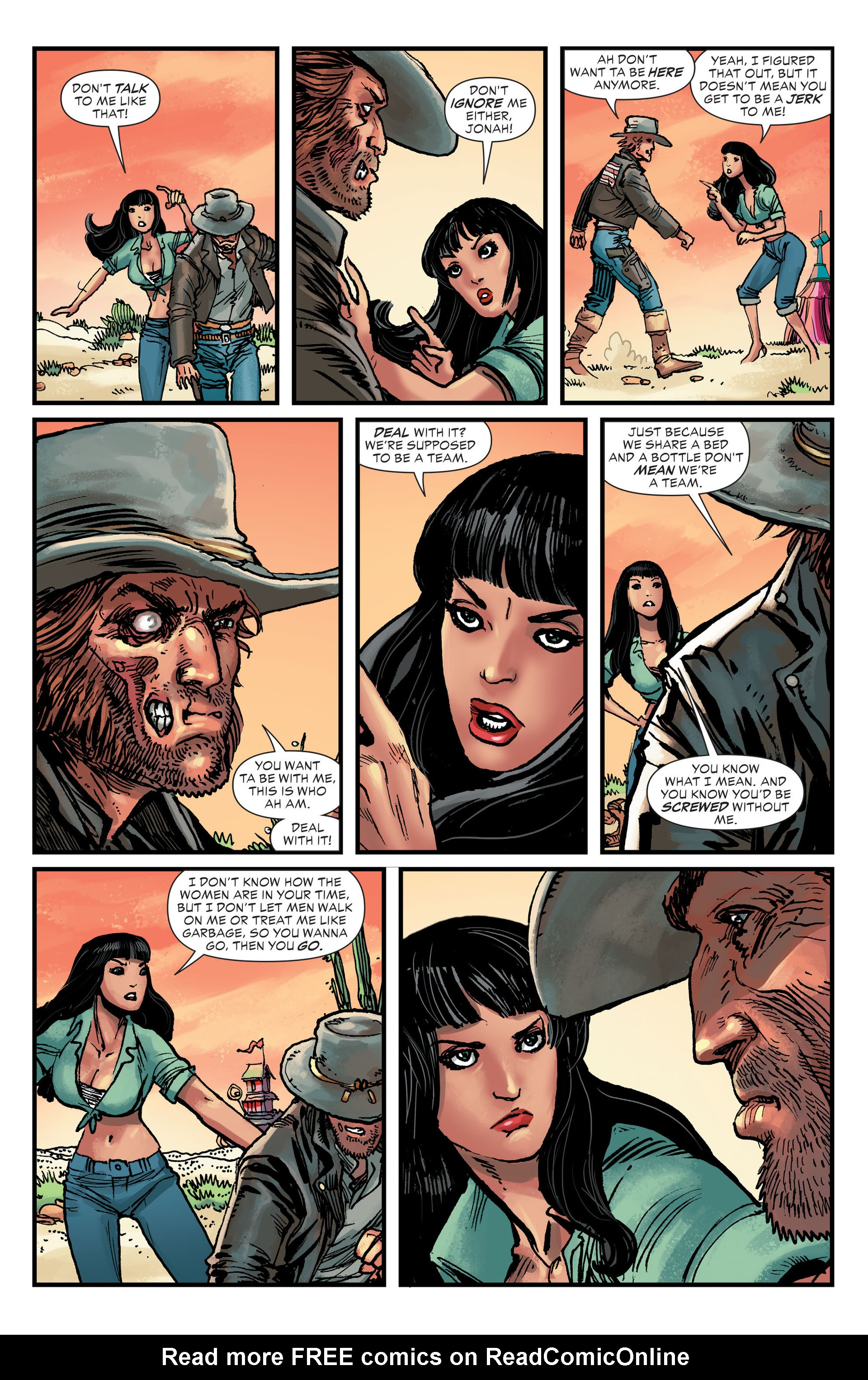 Read online All-Star Western (2011) comic -  Issue #26 - 20