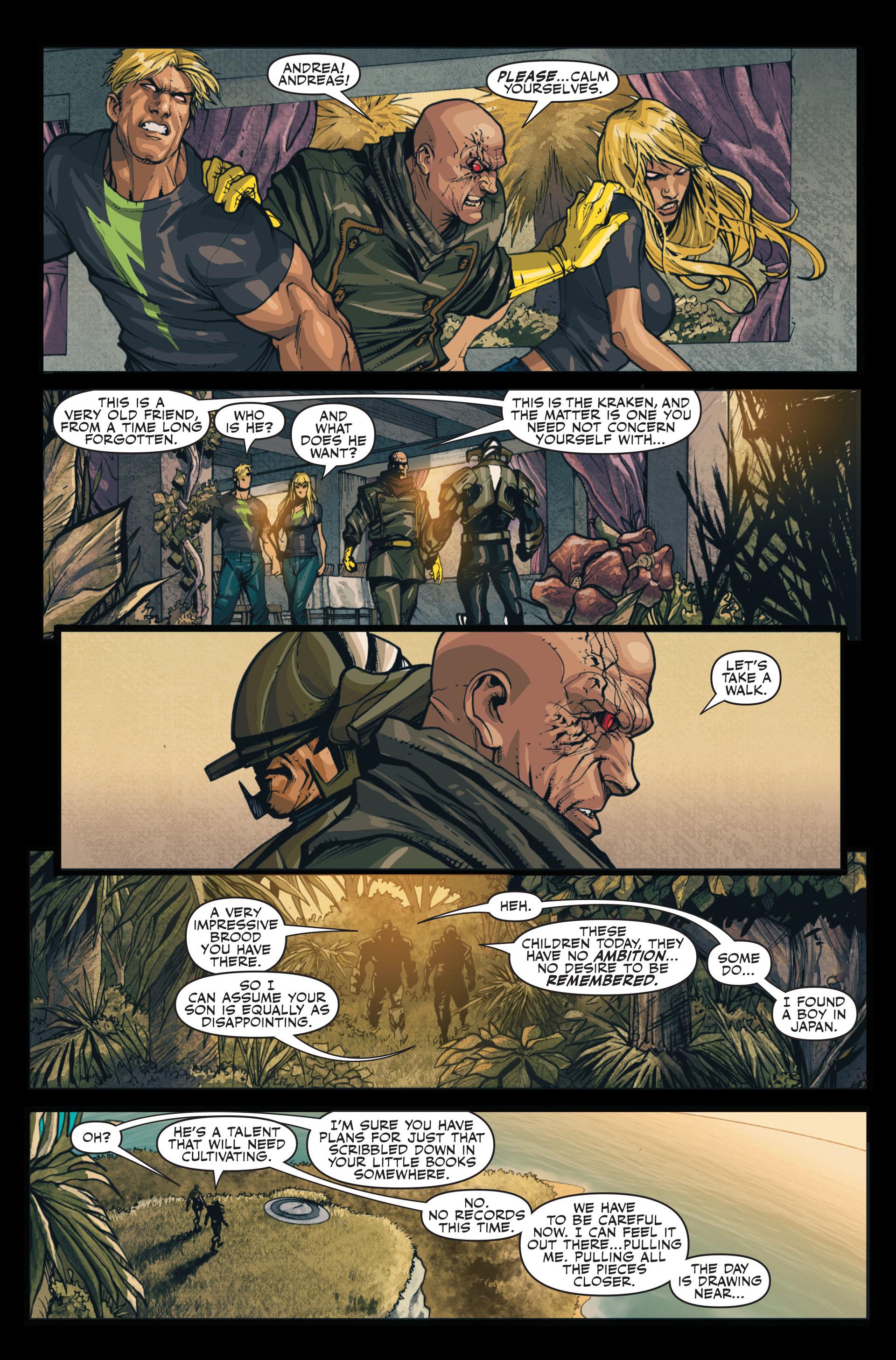 Read online Secret Warriors comic -  Issue #13 - 17