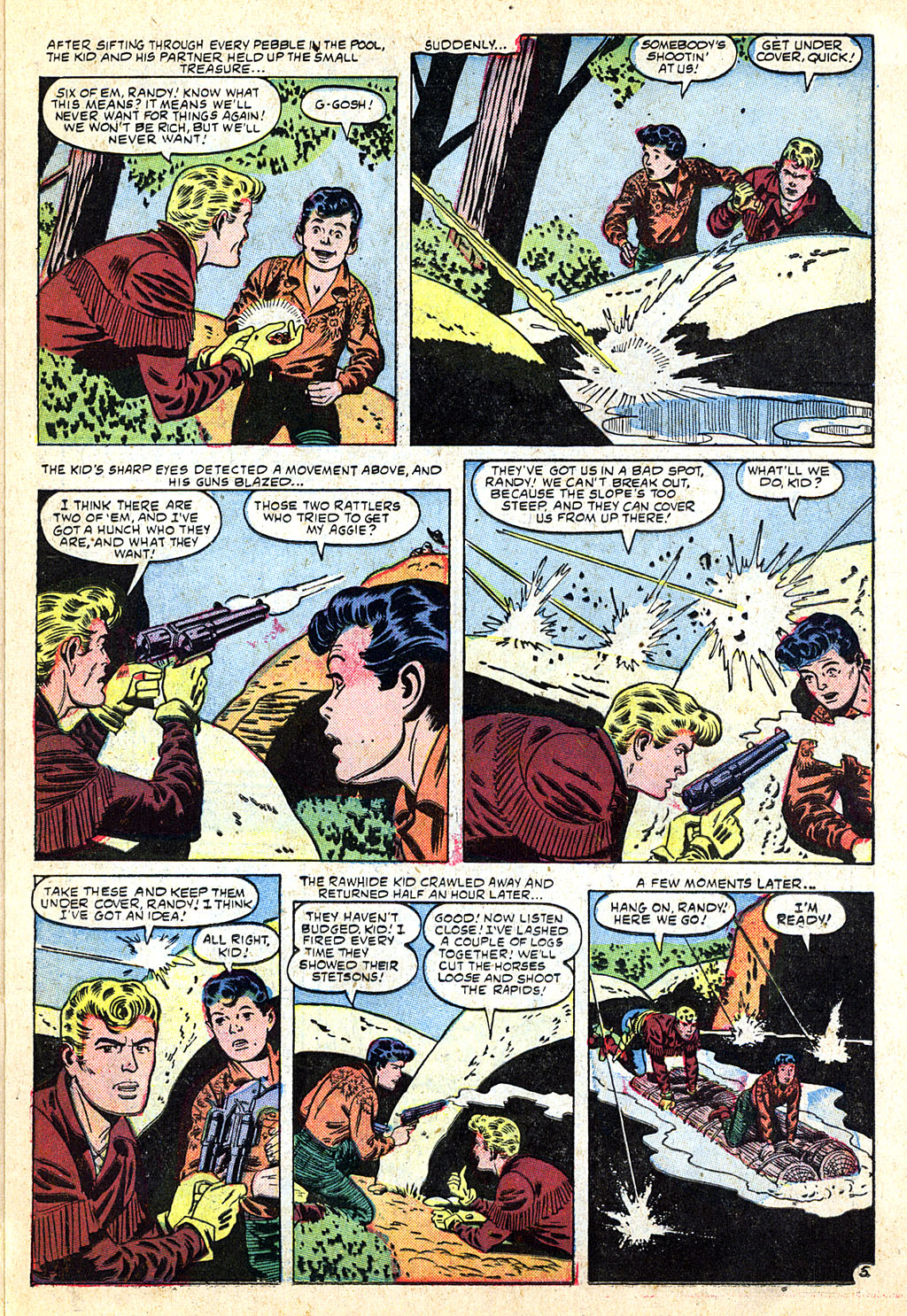 The Rawhide Kid (1955) issue 4 - Page 15