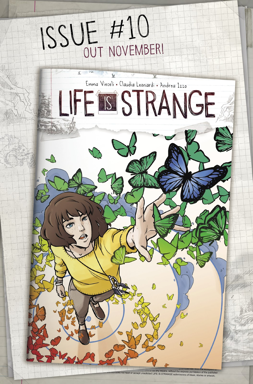 Read online Life is Strange comic -  Issue #9 - 33