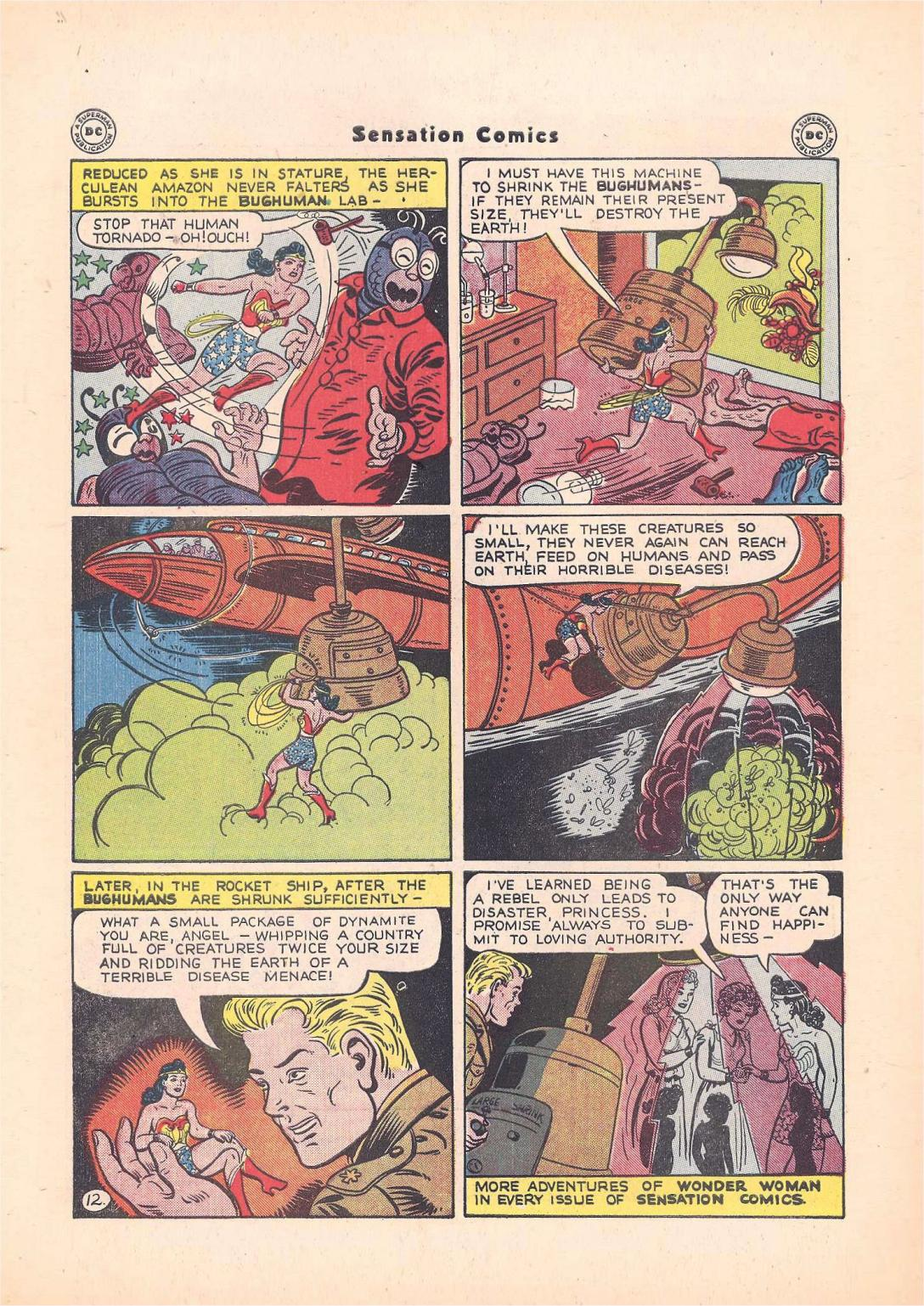 Read online Sensation (Mystery) Comics comic -  Issue #55 - 14