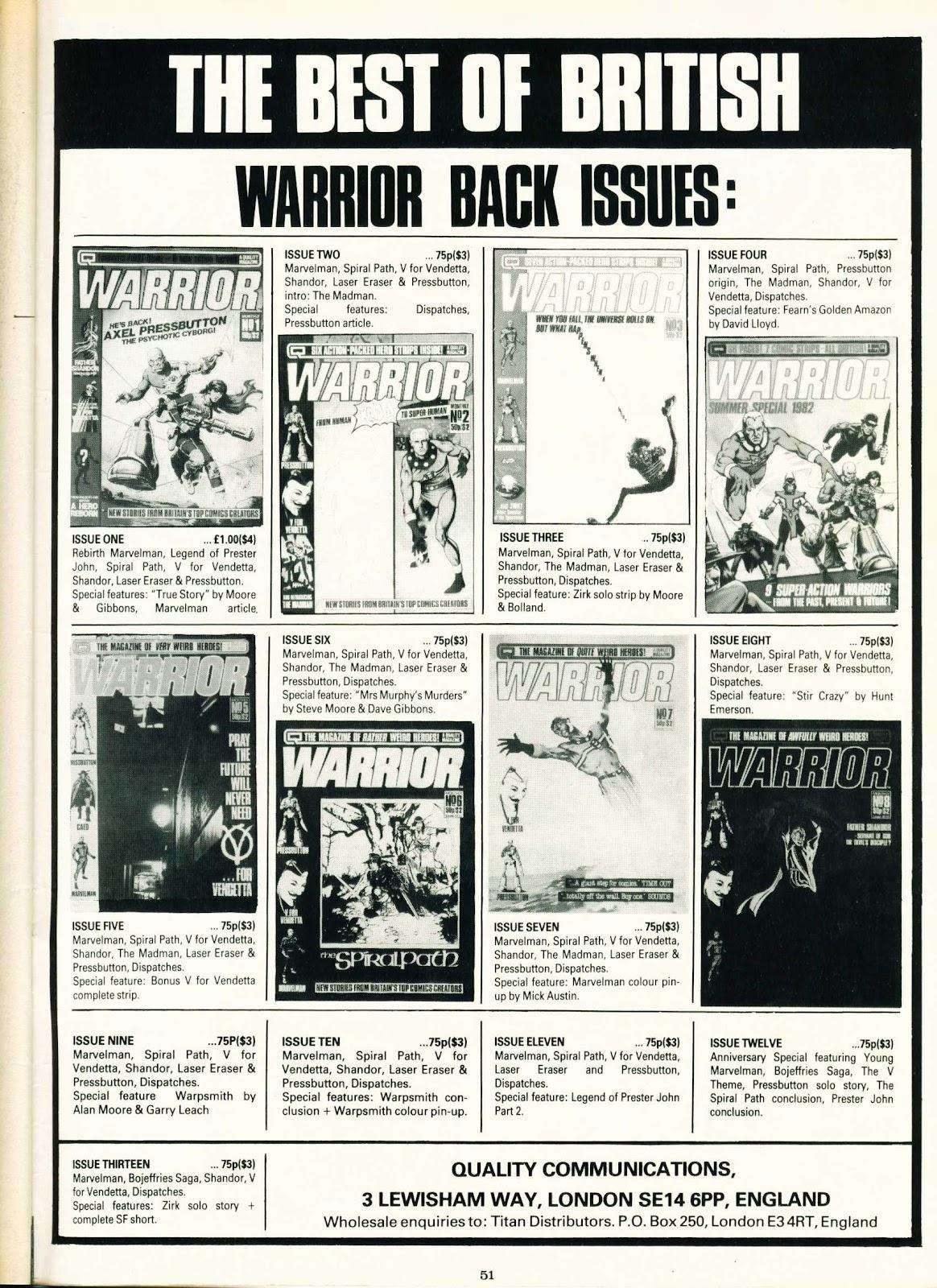 Warrior Issue #14 #15 - English 51