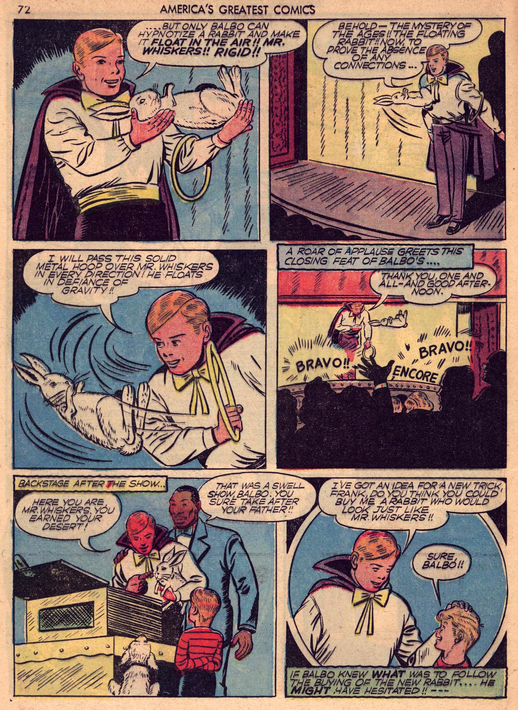 Read online America's Greatest Comics comic -  Issue #7 - 71