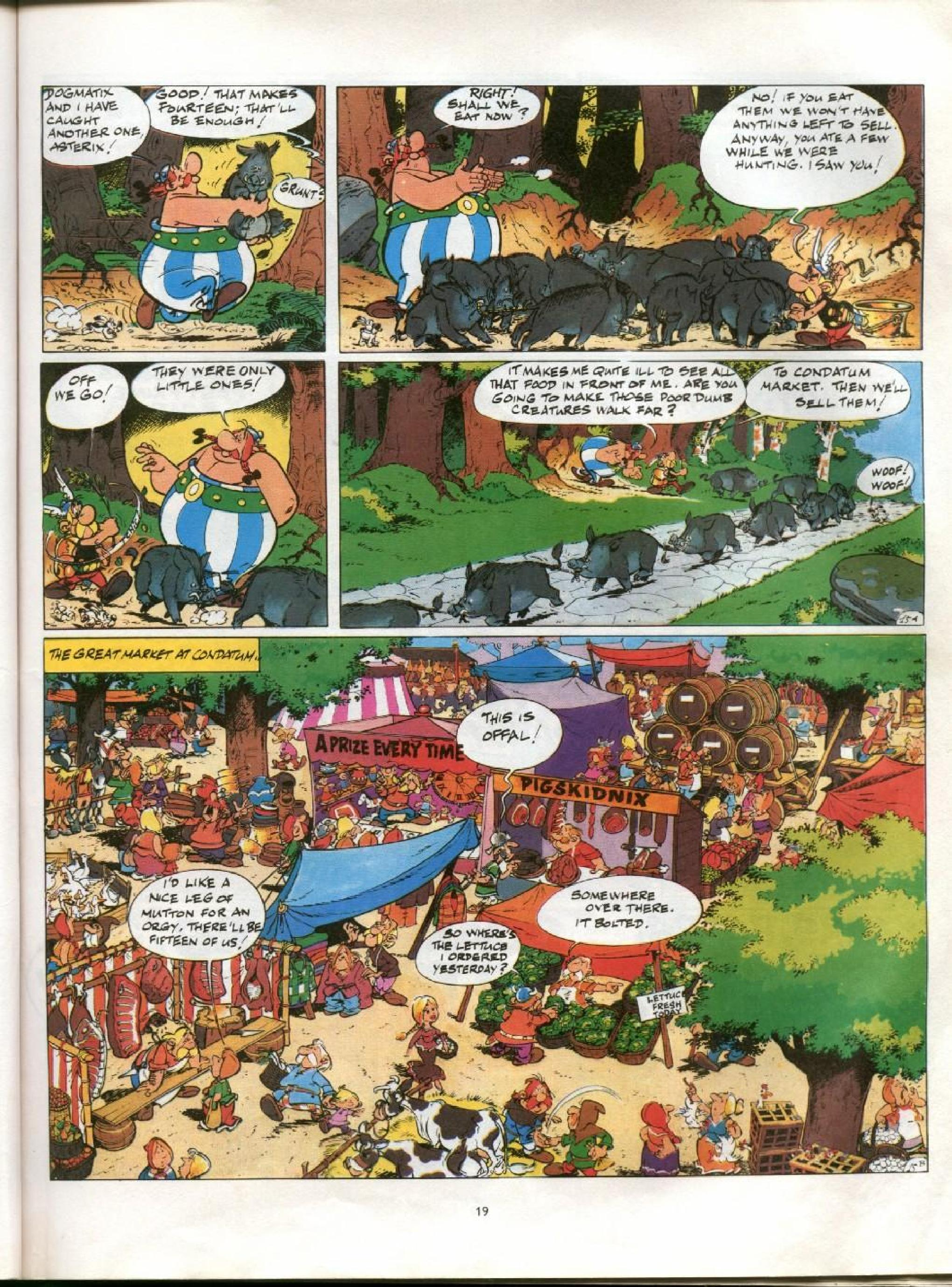 Read online Asterix comic -  Issue #13 - 16
