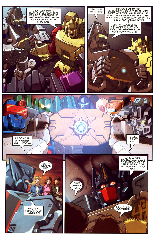 Read online Transformers Armada comic -  Issue #18 - 5