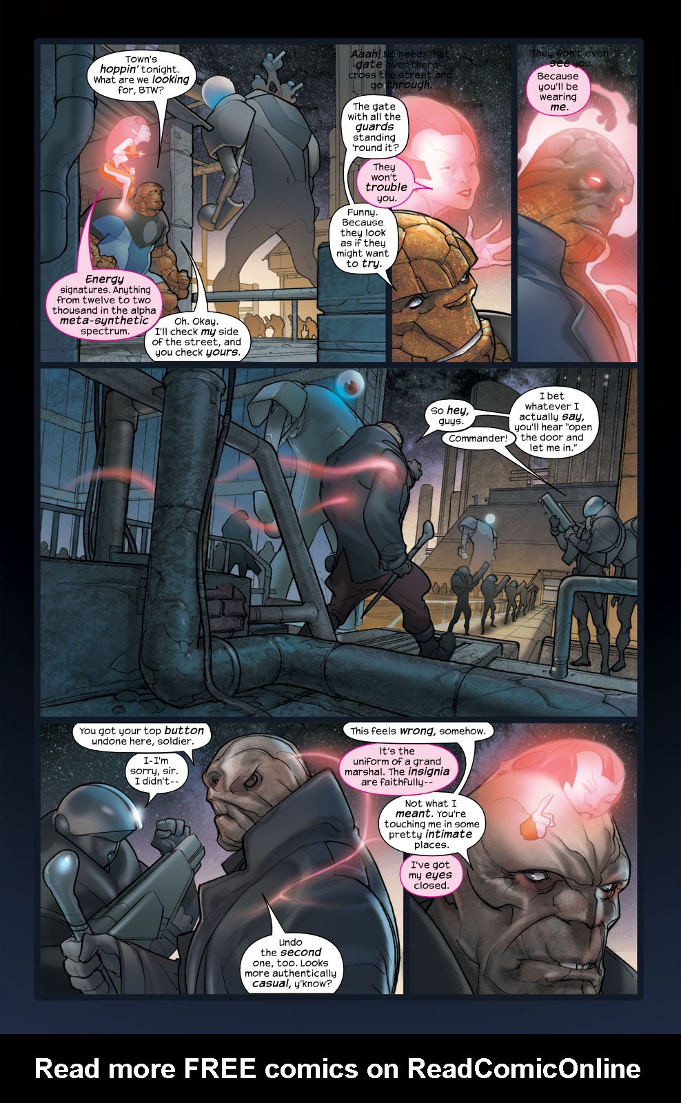 Read online Ultimate Fantastic Four (2004) comic -  Issue #36 - 16