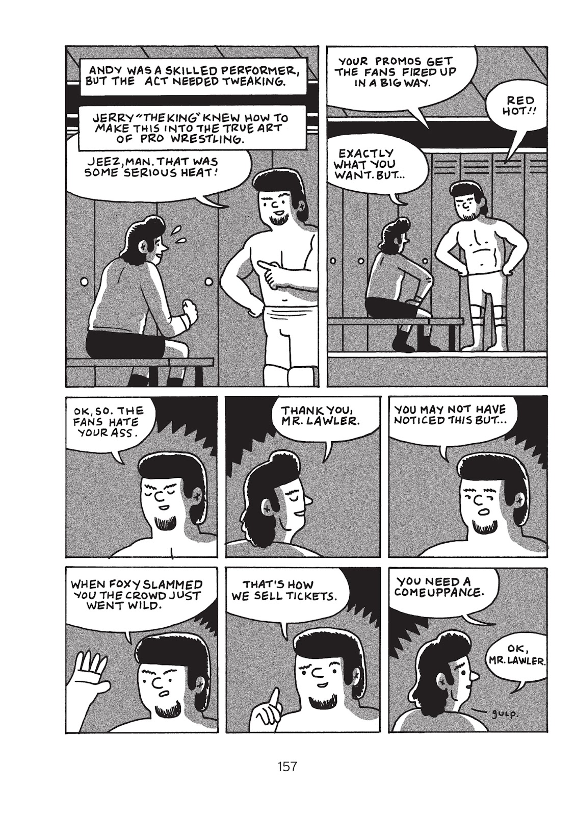 Read online Is This Guy For Real?: The Unbelievable Andy Kaufman comic -  Issue # TPB (Part 2) - 62