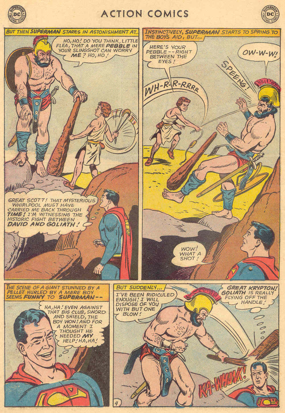 Read online Action Comics (1938) comic -  Issue #308 - 6