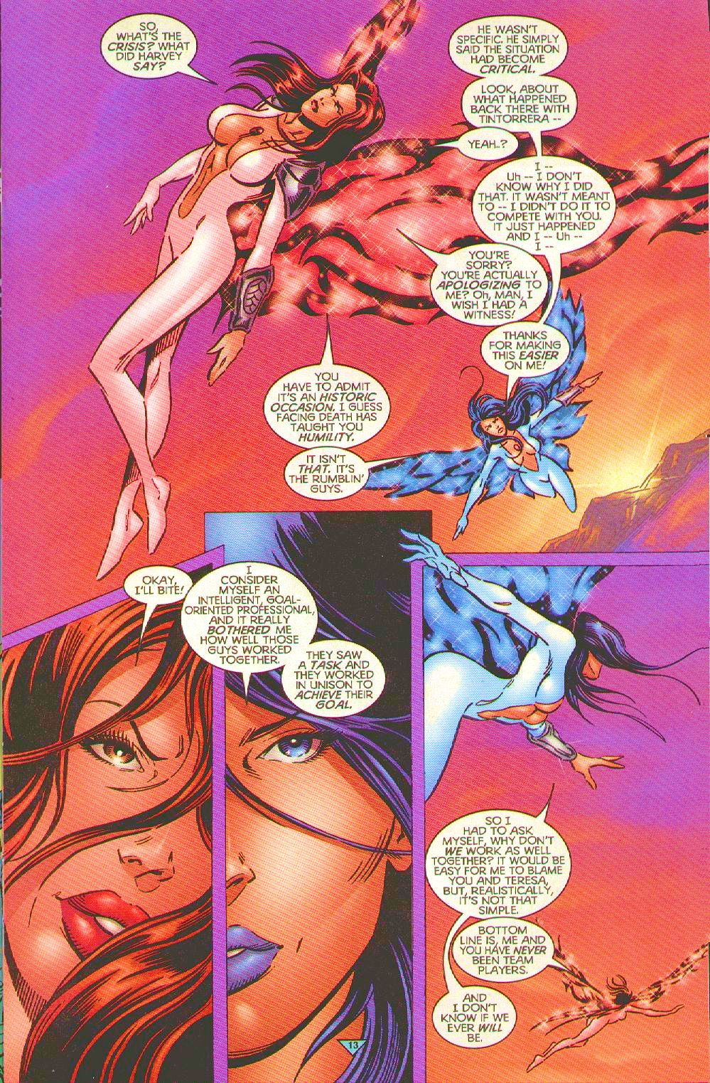 Read online Trinity Angels comic -  Issue #10 - 12