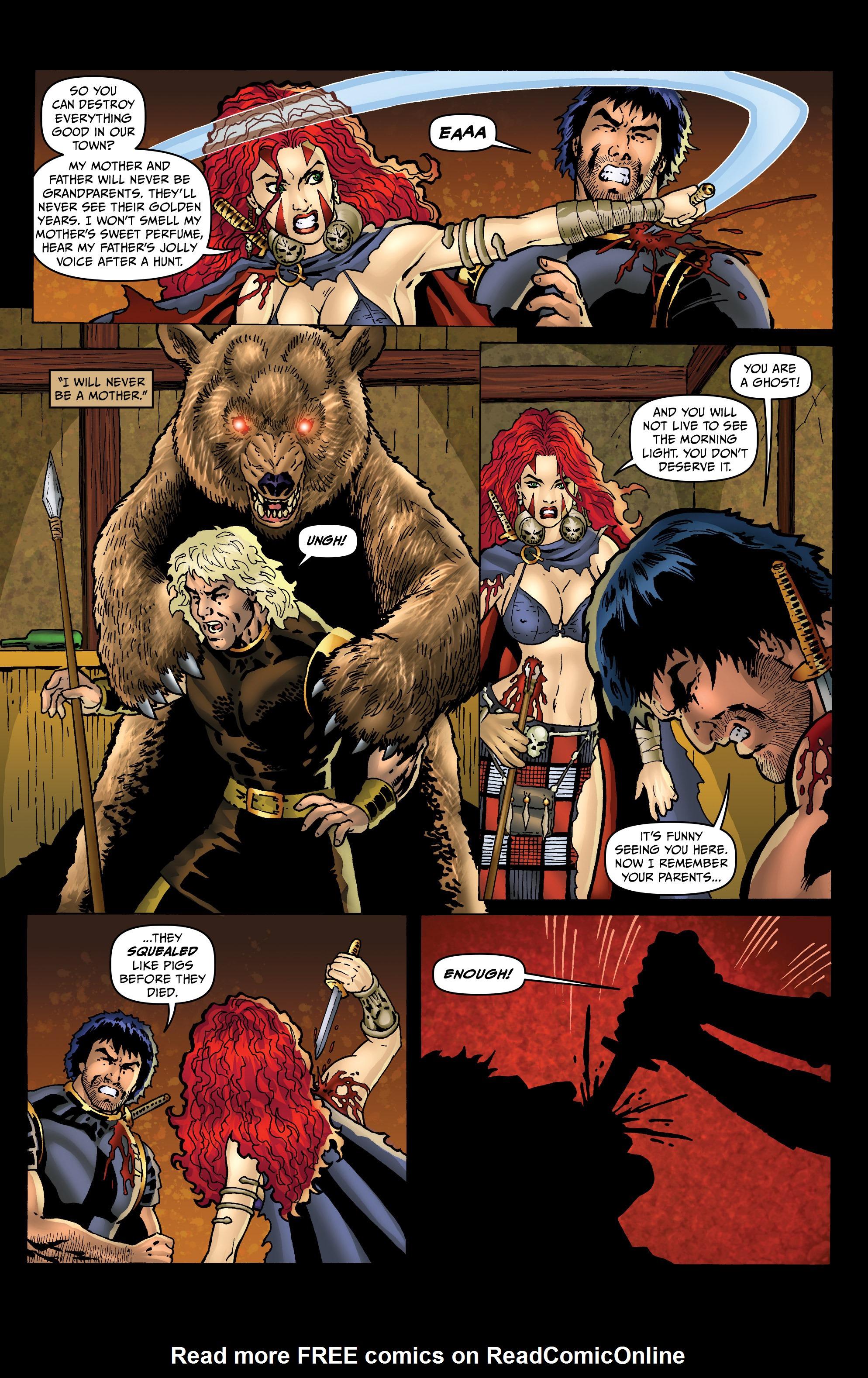 Read online Belladonna: Origins comic -  Issue #4 - 11