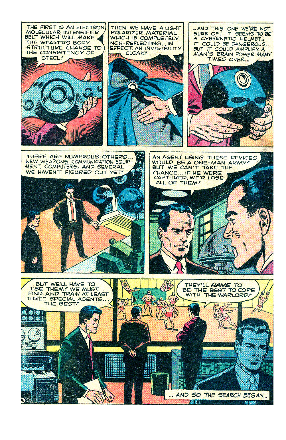 T.H.U.N.D.E.R. Agents (1965) issue 17 - Page 5