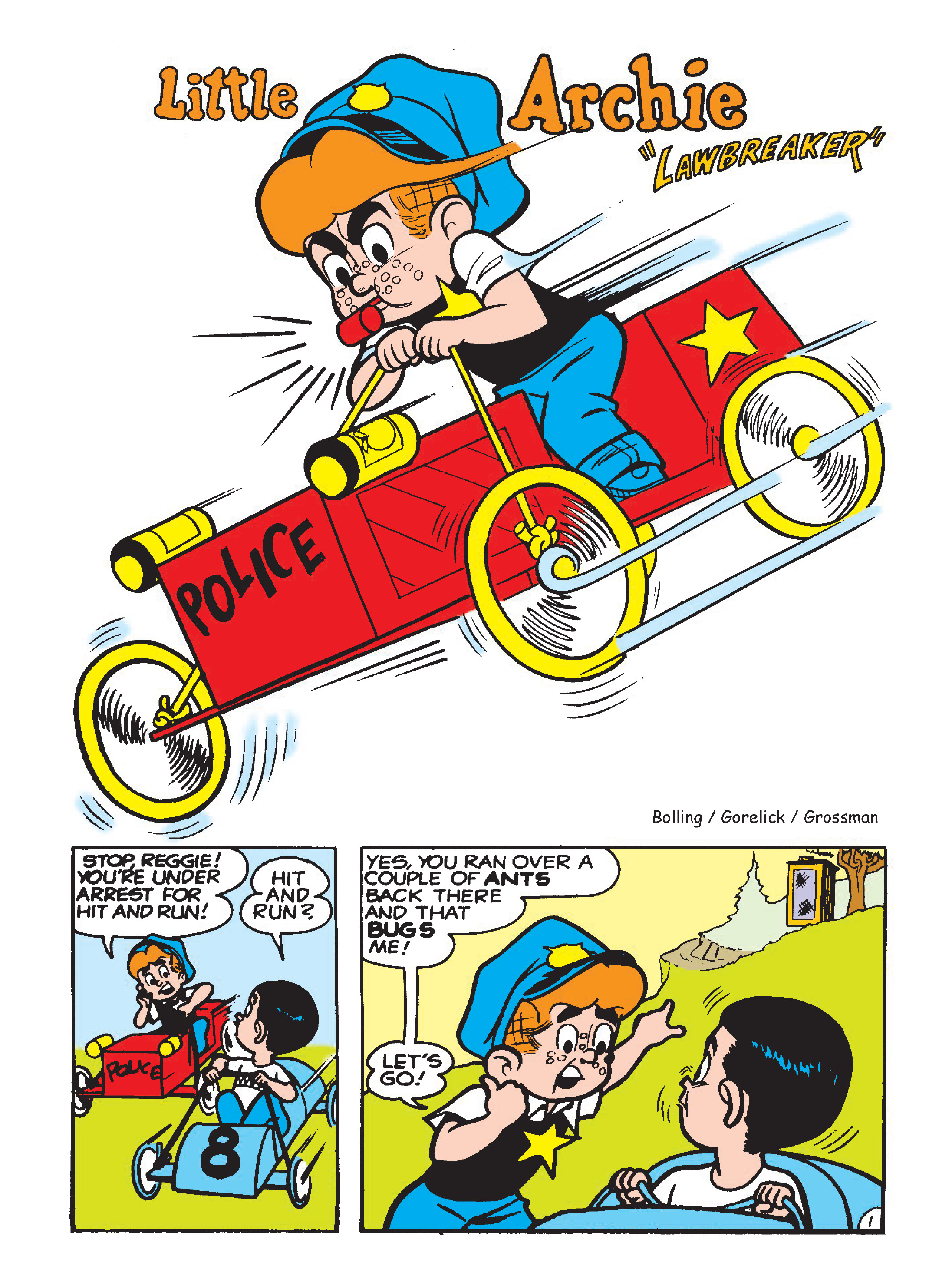 Read online Archie 75th Anniversary Digest comic -  Issue #5 - 106