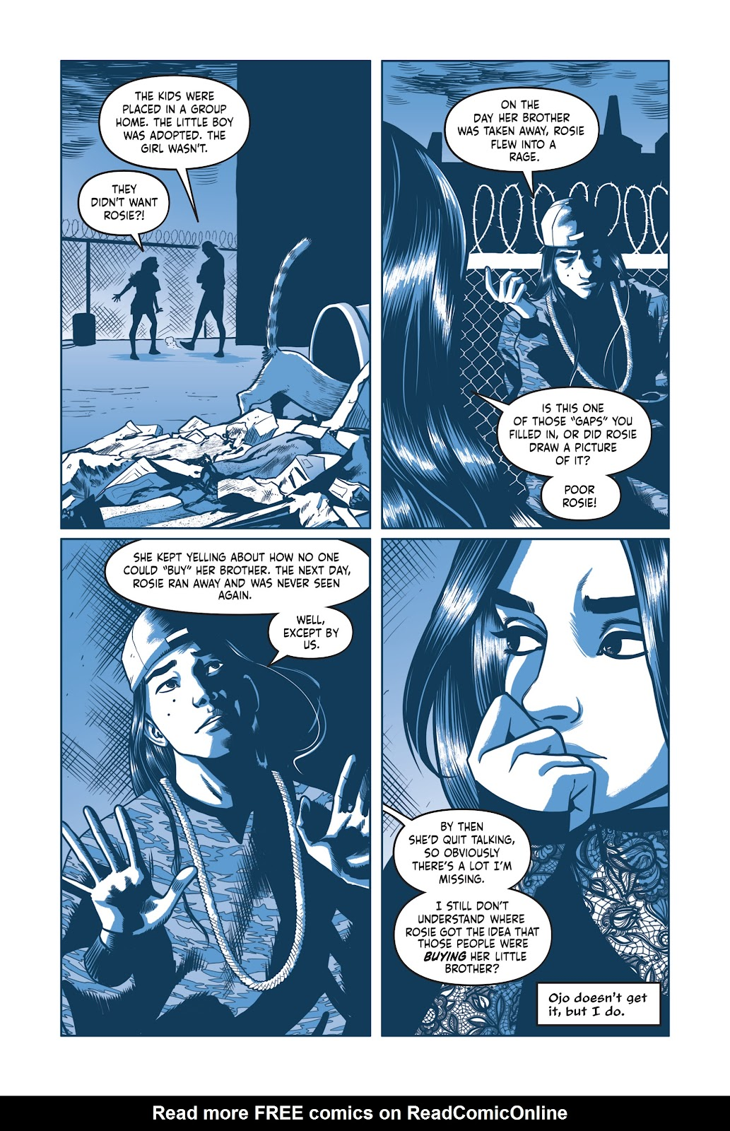 Read online Under the Moon: A Catwoman Tale comic -  Issue # TPB (Part 2) - 38