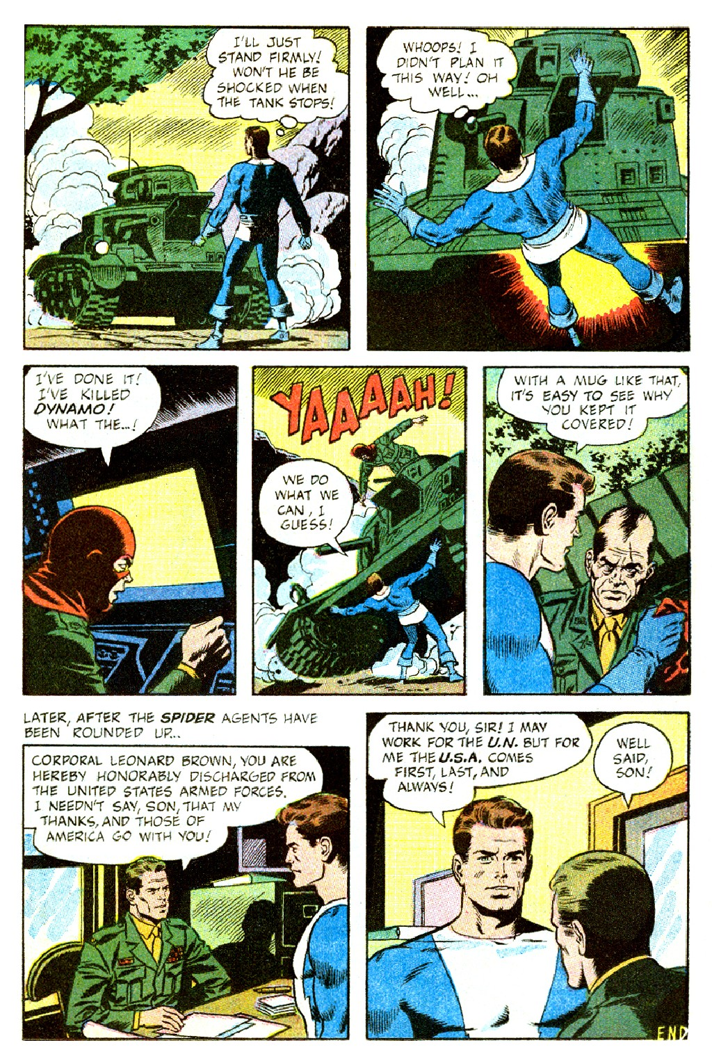 T.H.U.N.D.E.R. Agents (1965) issue 9 - Page 13