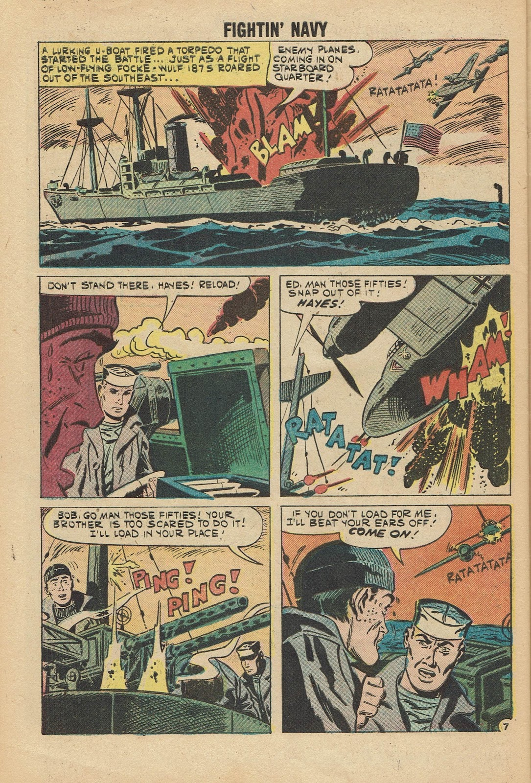 Read online Fightin' Navy comic -  Issue #96 - 32