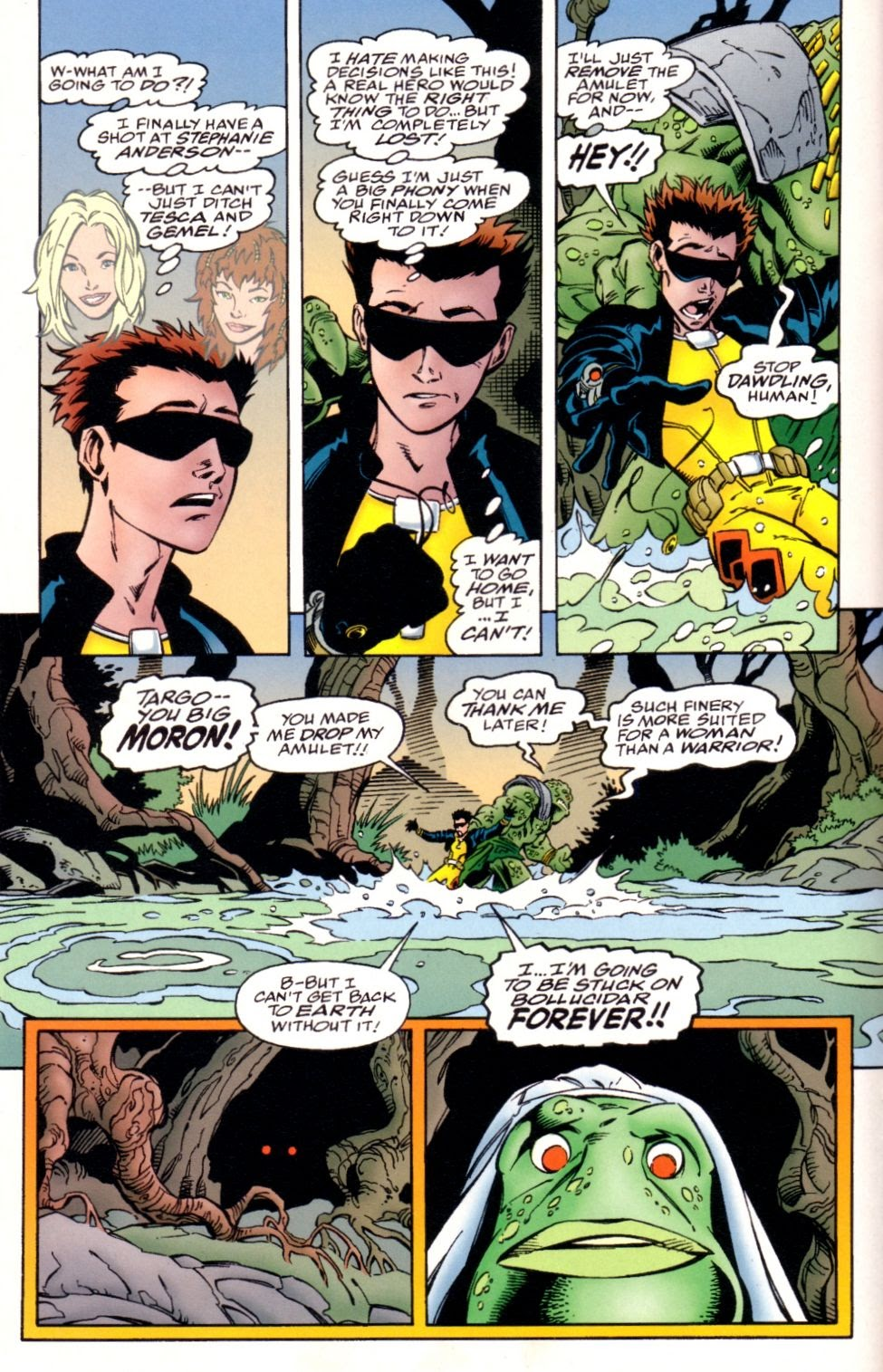 Read online Randy O'Donnell is The M@N comic -  Issue #3 - 16