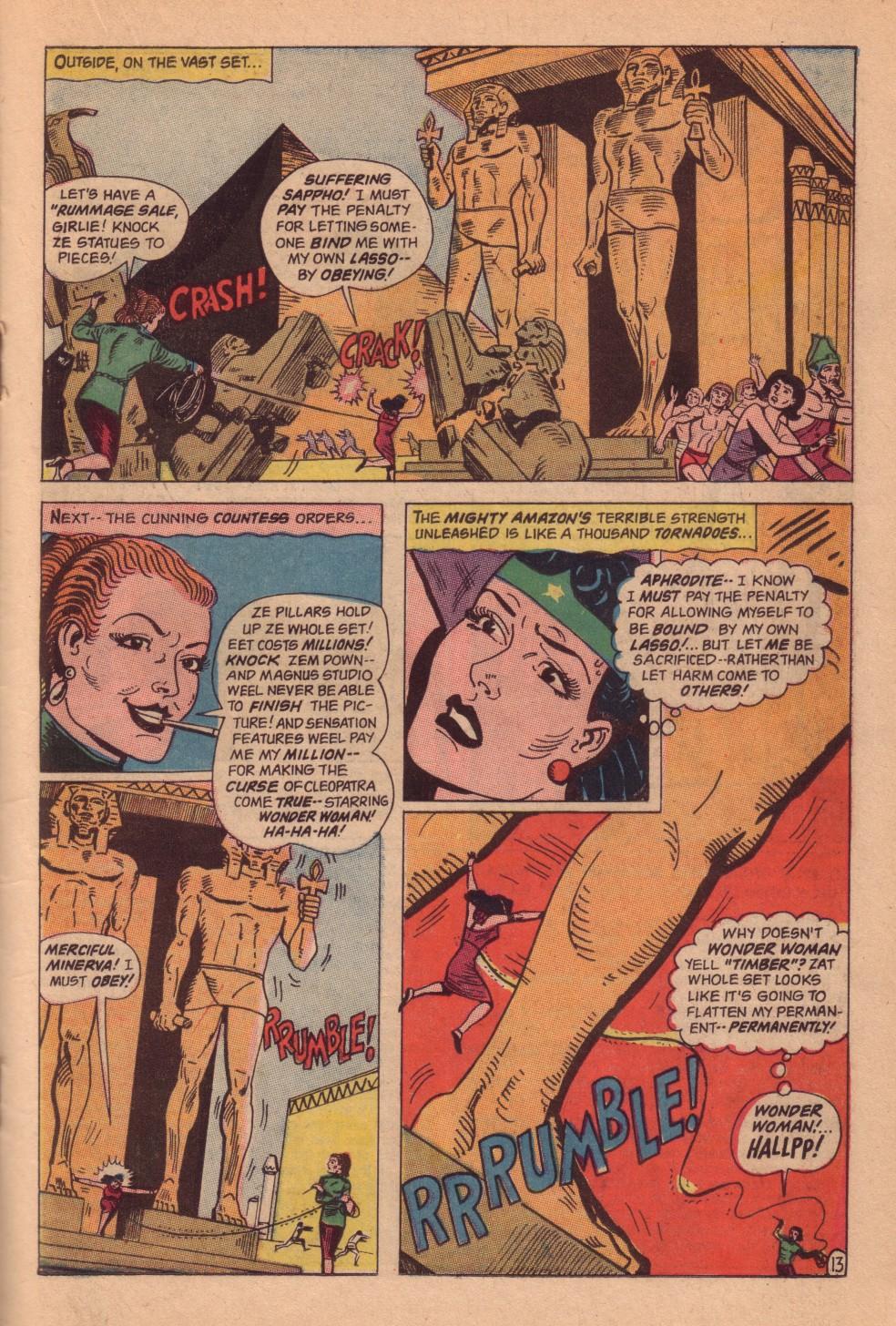 Read online Wonder Woman (1942) comic -  Issue #161 - 19