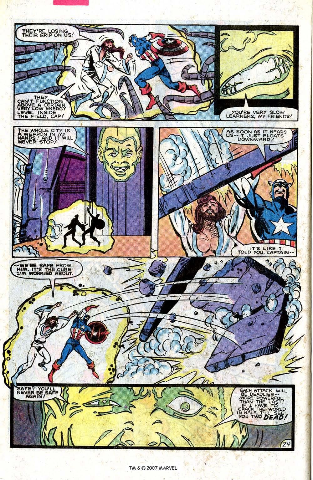 Read online Captain America (1968) comic -  Issue # _Annual 7 - 32