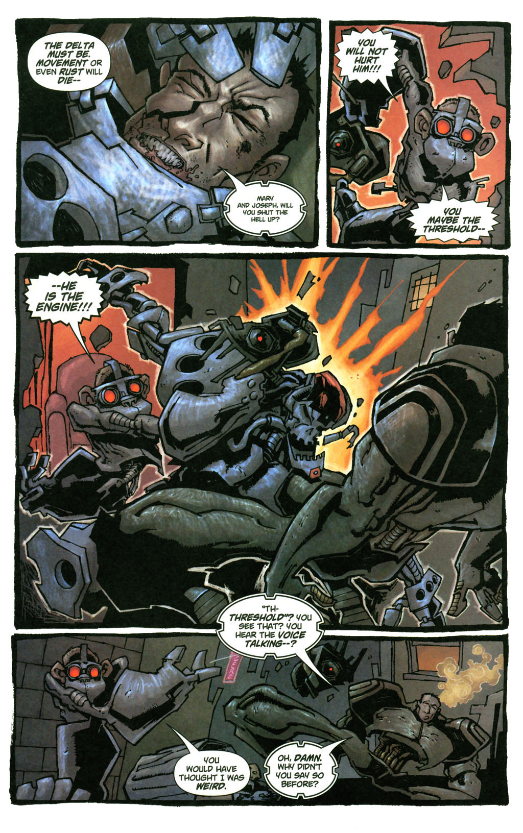 Read online Enginehead comic -  Issue #4 - 15