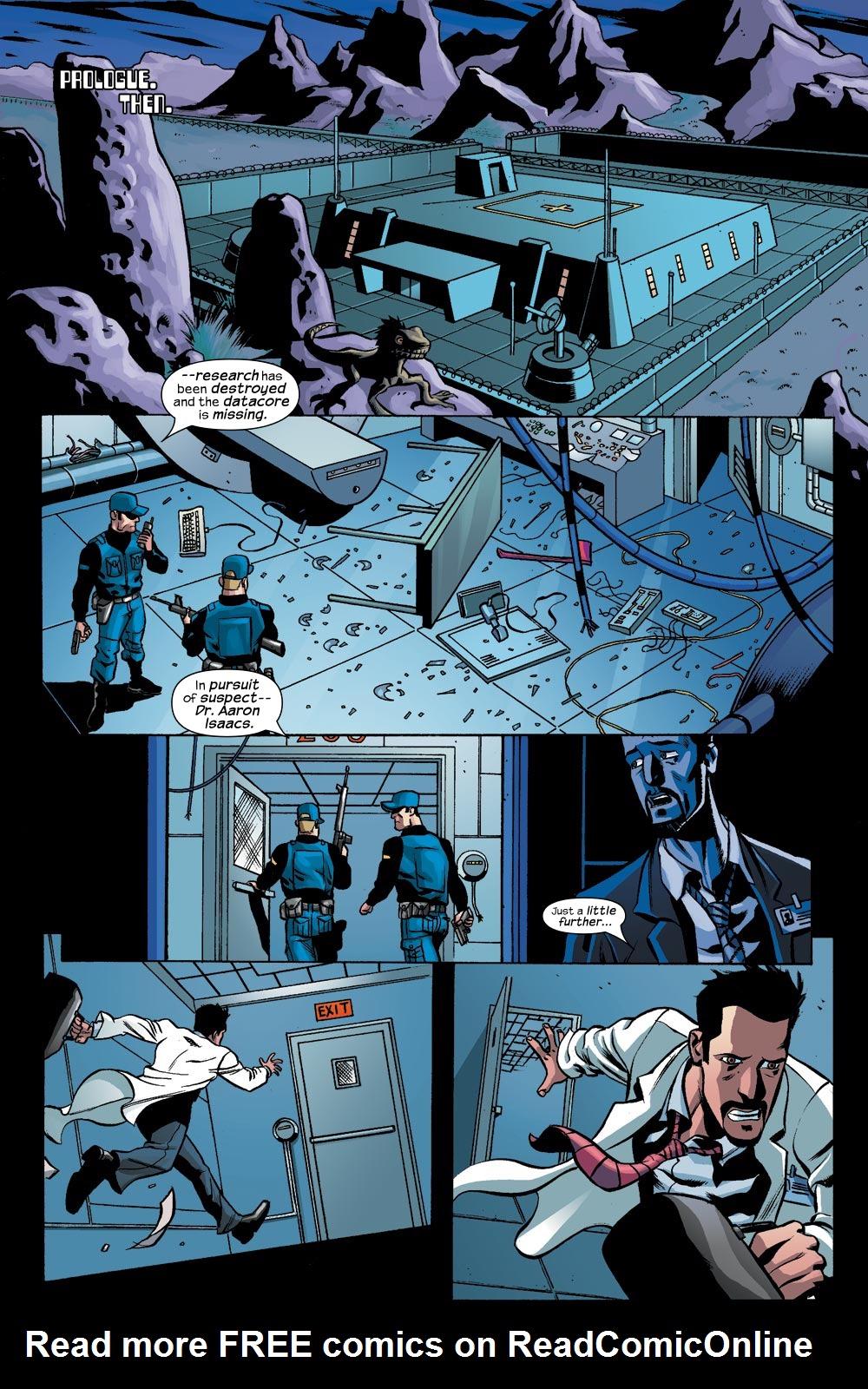 Read online Machine Teen comic -  Issue #1 - 2