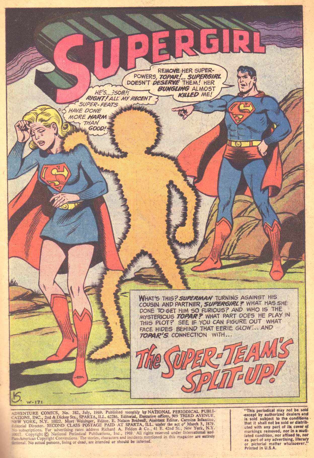 Read online Adventure Comics (1938) comic -  Issue #382 - 3