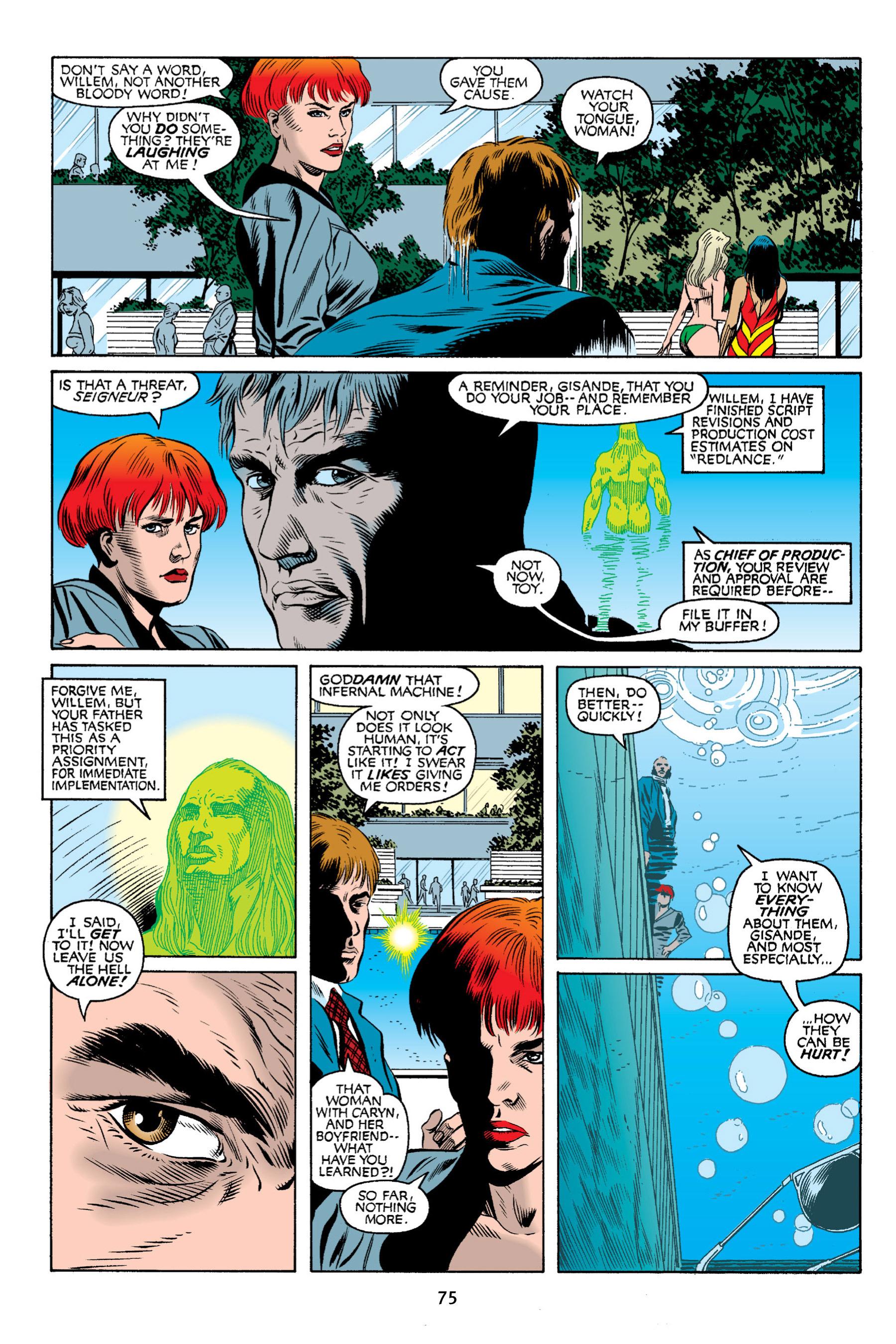 Read online Aliens vs. Predator Omnibus comic -  Issue # _TPB 2 Part 1 - 74