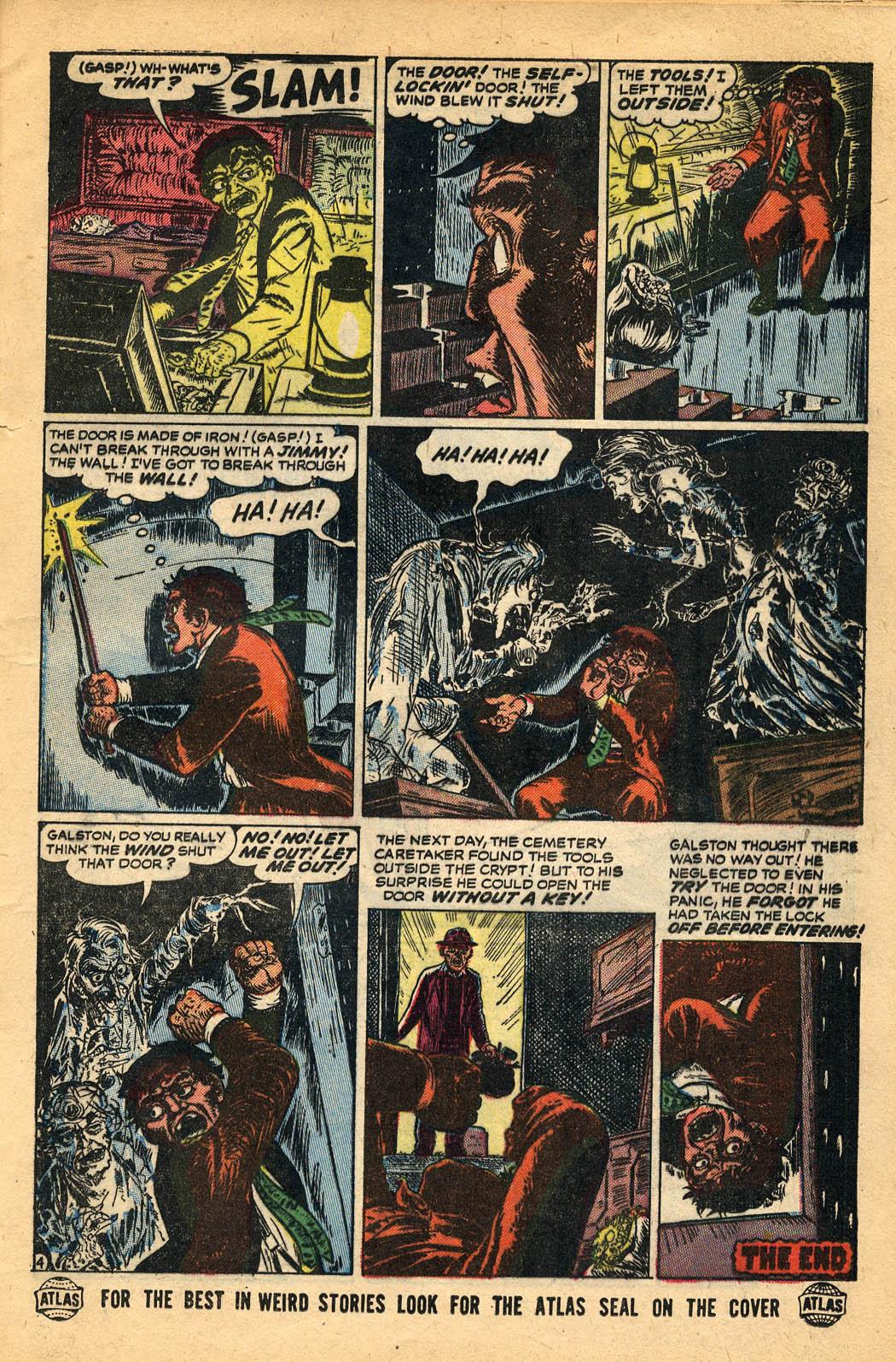Read online Adventures into Weird Worlds comic -  Issue #29 - 21
