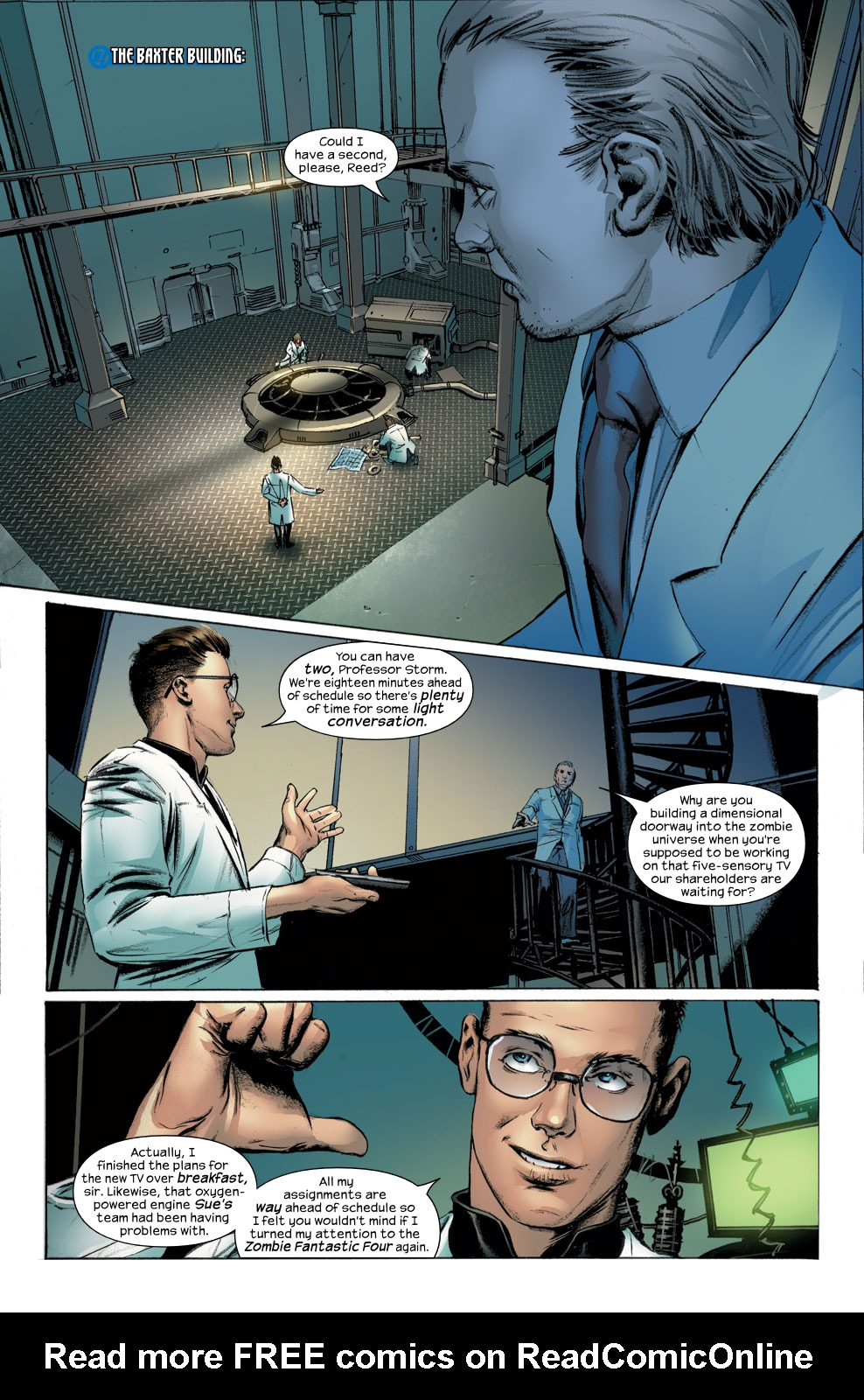 Read online Ultimate Fantastic Four (2004) comic -  Issue #30 - 9