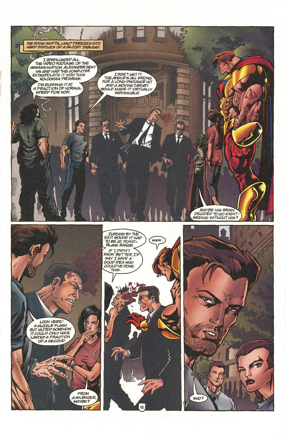 Read online UltraForce (1995) comic -  Issue #5 - 18